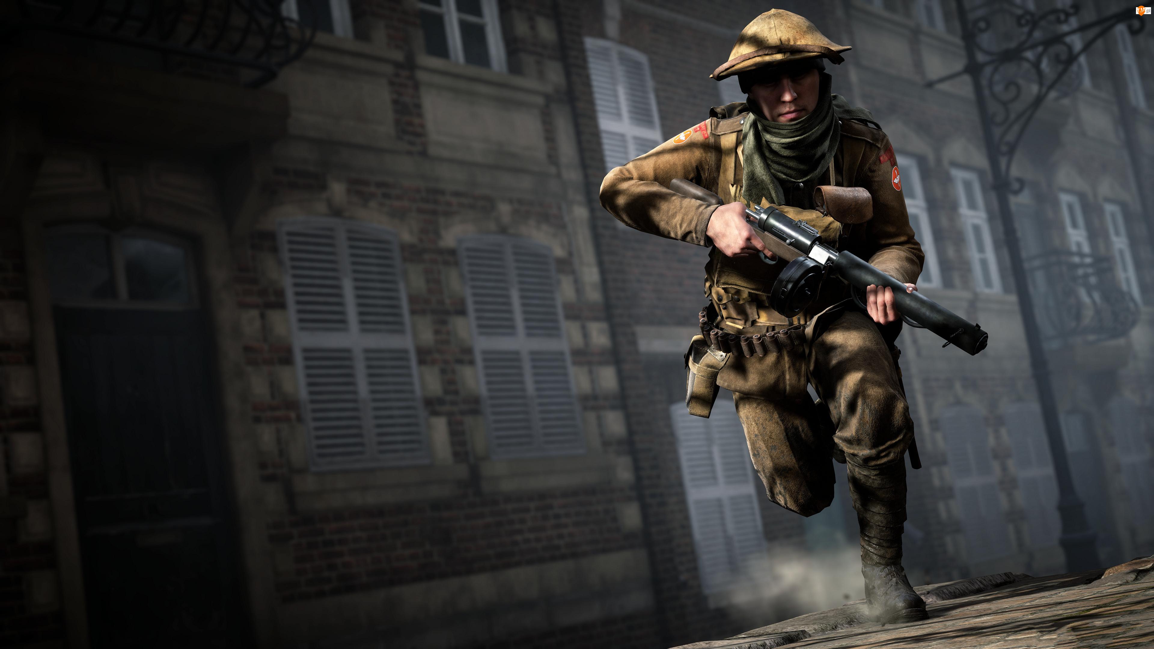 Pistolet maszynowy, Battlefield 1, Żołnierz