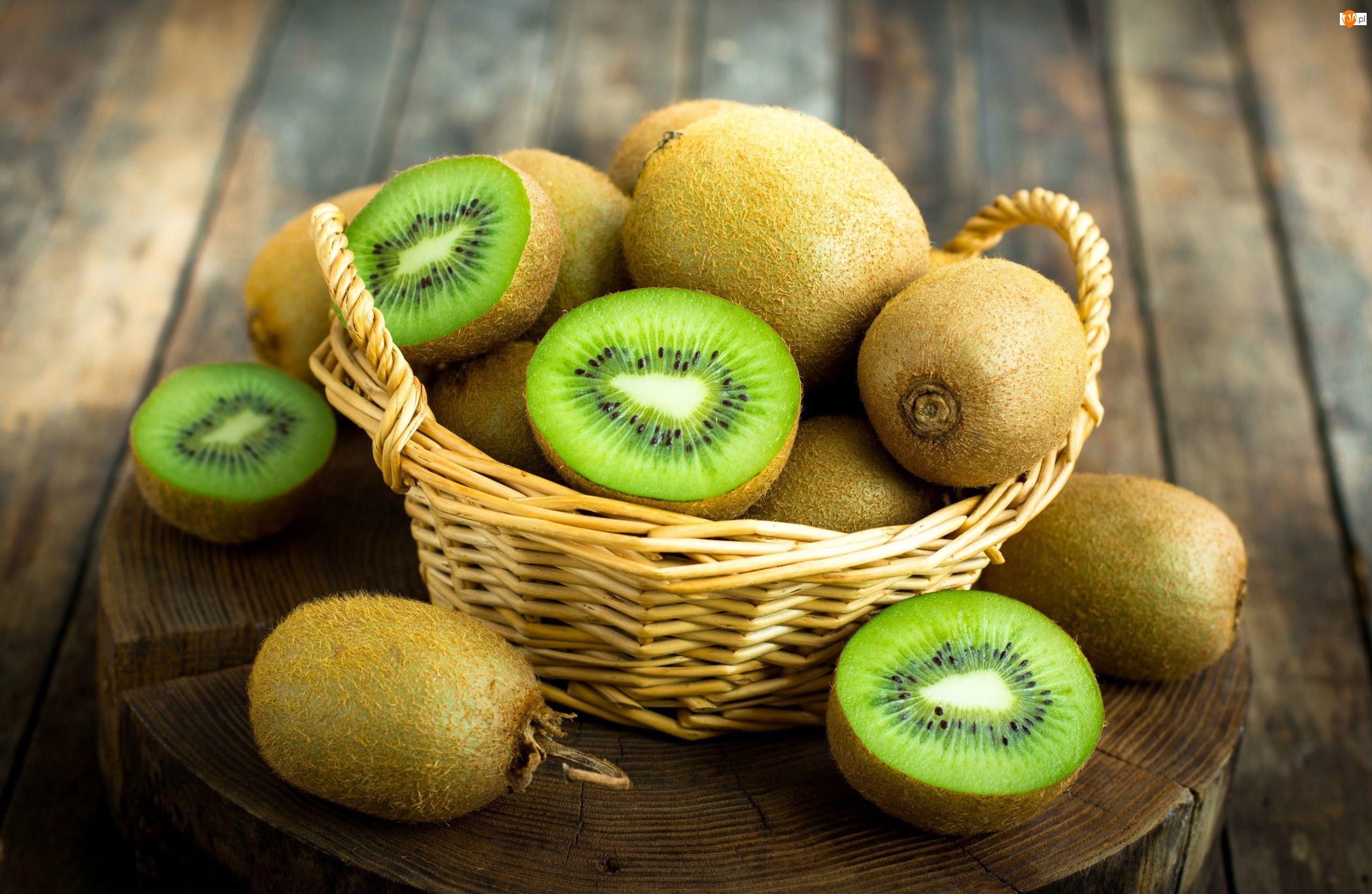 Koszyk, Owoce, Kiwi