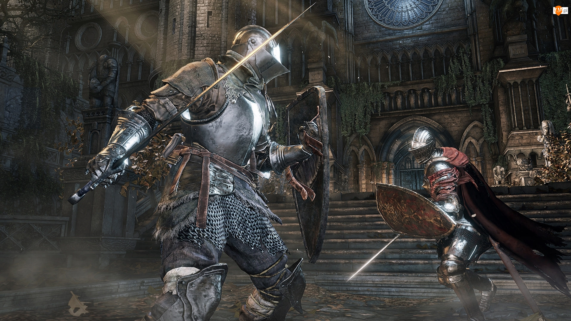 Gra, Walka, Dark Souls 3, Rycerze