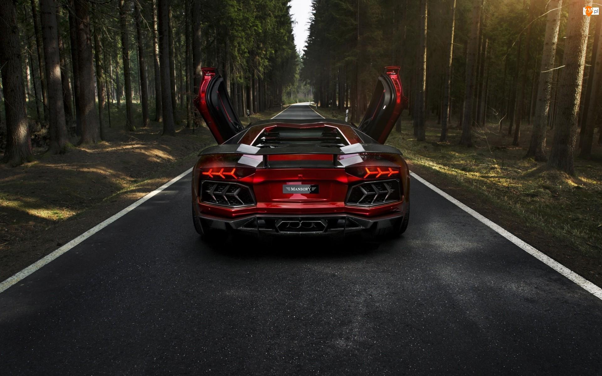 Lamborghini Aventador LP700-4 Mansory, 2012