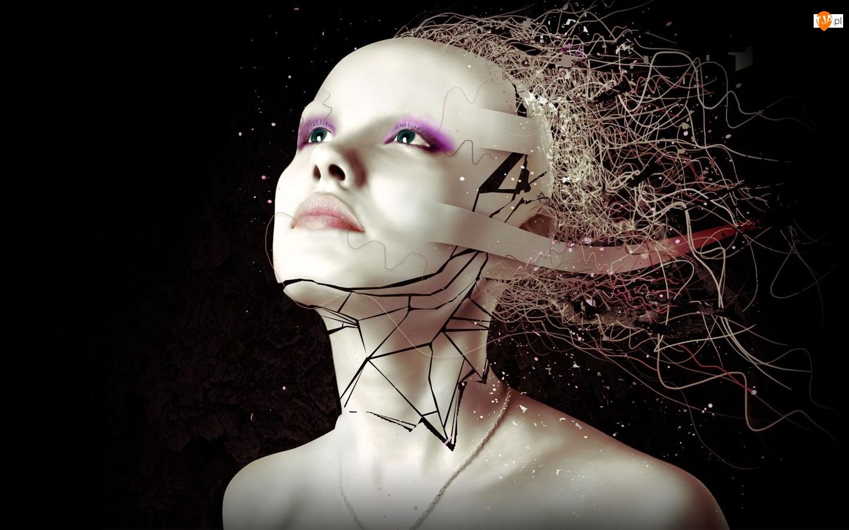 Kobieta, Maska