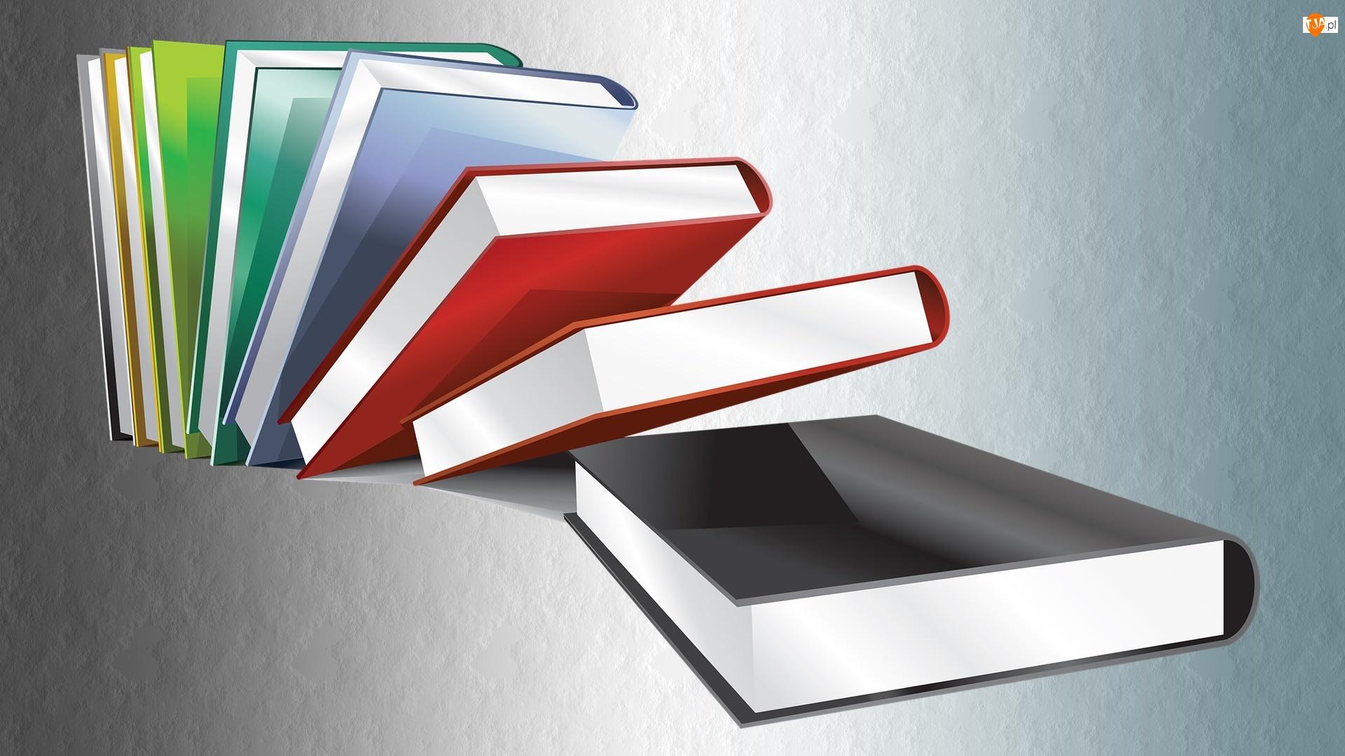 Książki, Grafika 2D