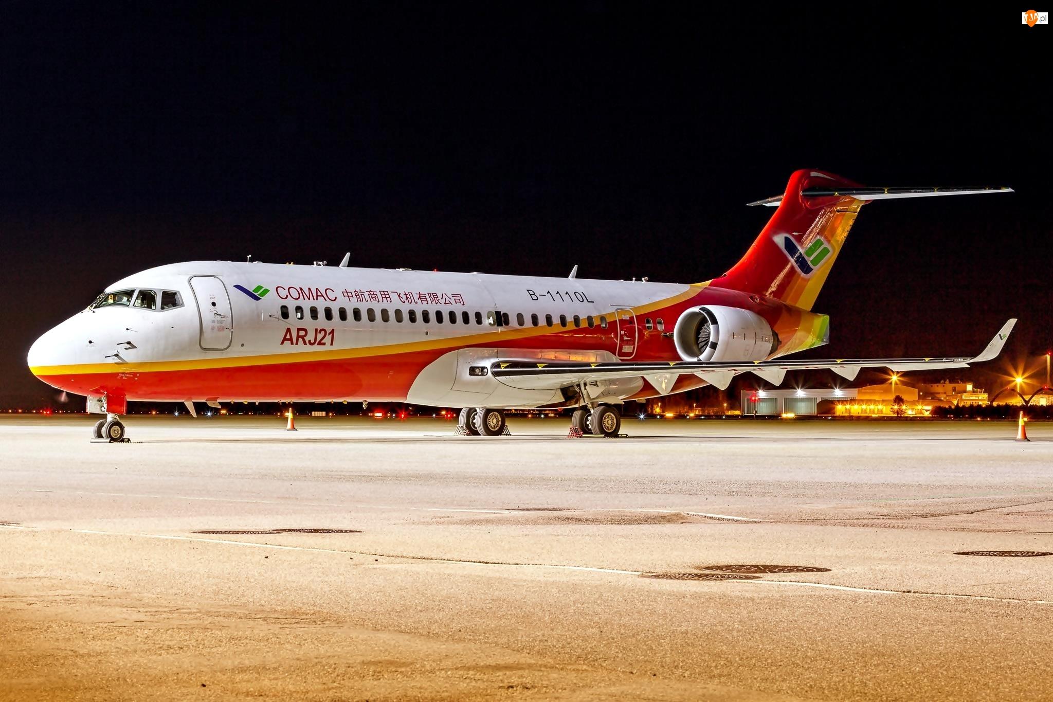 Samolot pasażerski, Comac ARJ21 Xiangfeng