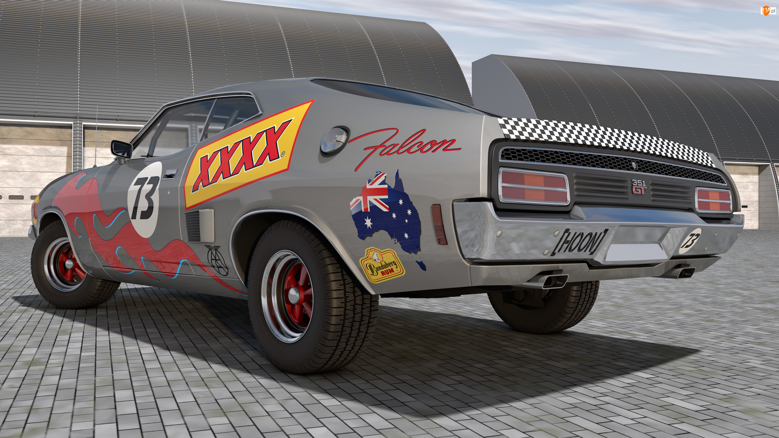 1973, Zabytkowy, Ford Falcon XB GT