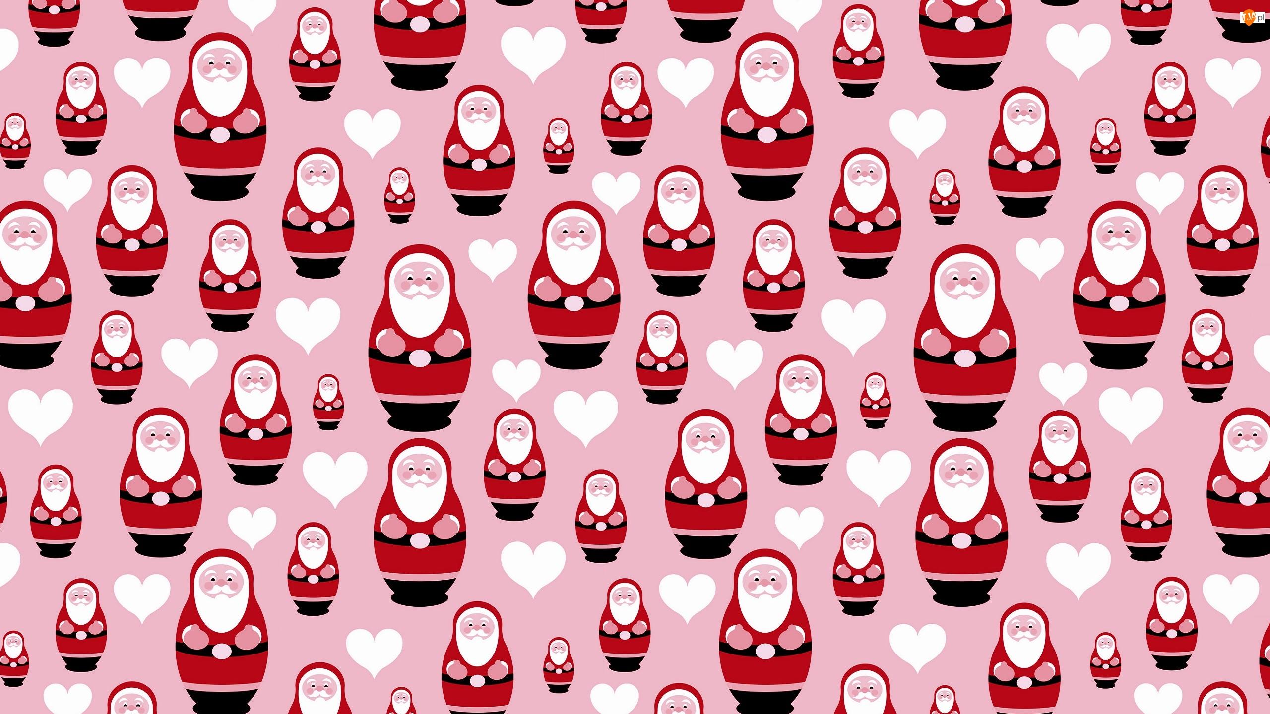 Tekstura, Mikołaje, Boże Narodzenie
