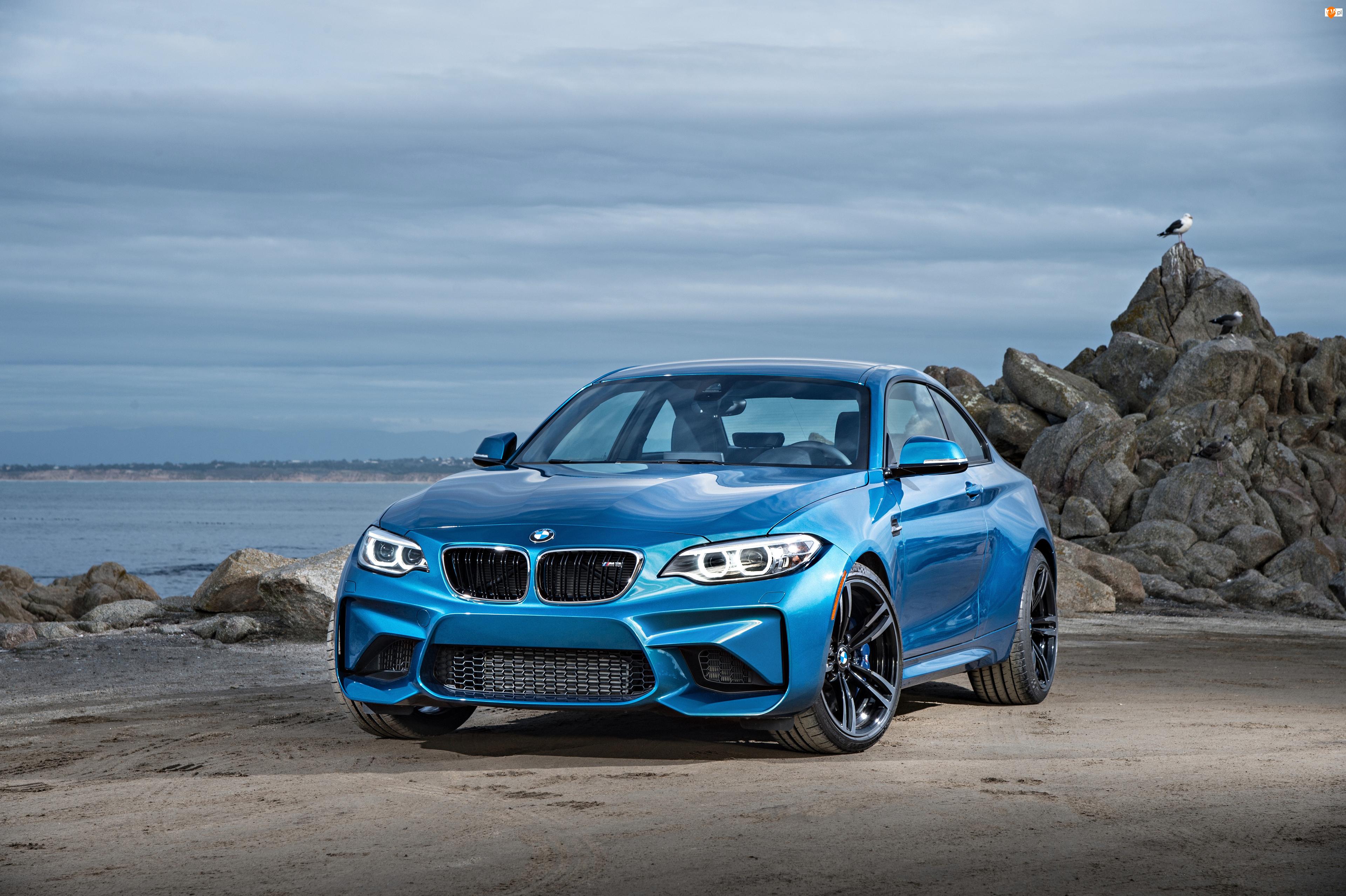 Niebieskie, 2016, BMW M2 Coupe, F87