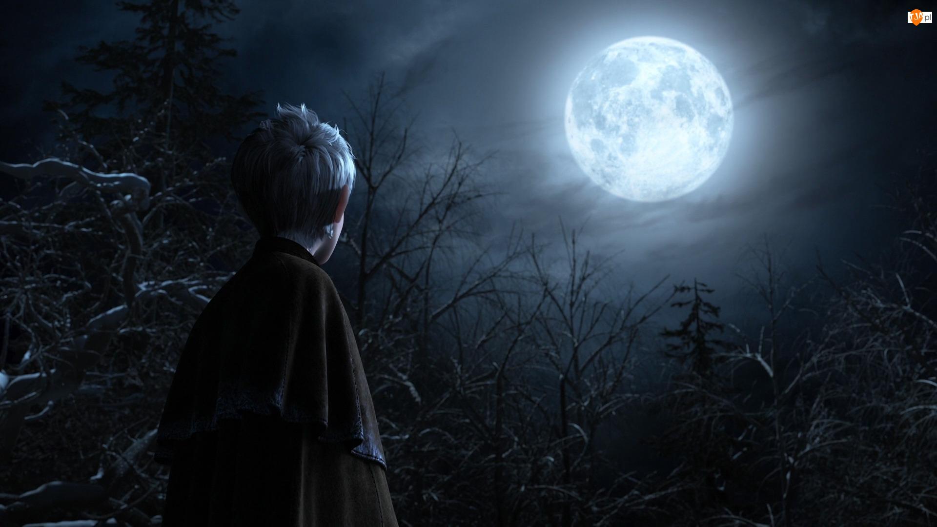 Księżyc, Film animowany, Chłopiec, Strażnicy marzeń, Jack Frost
