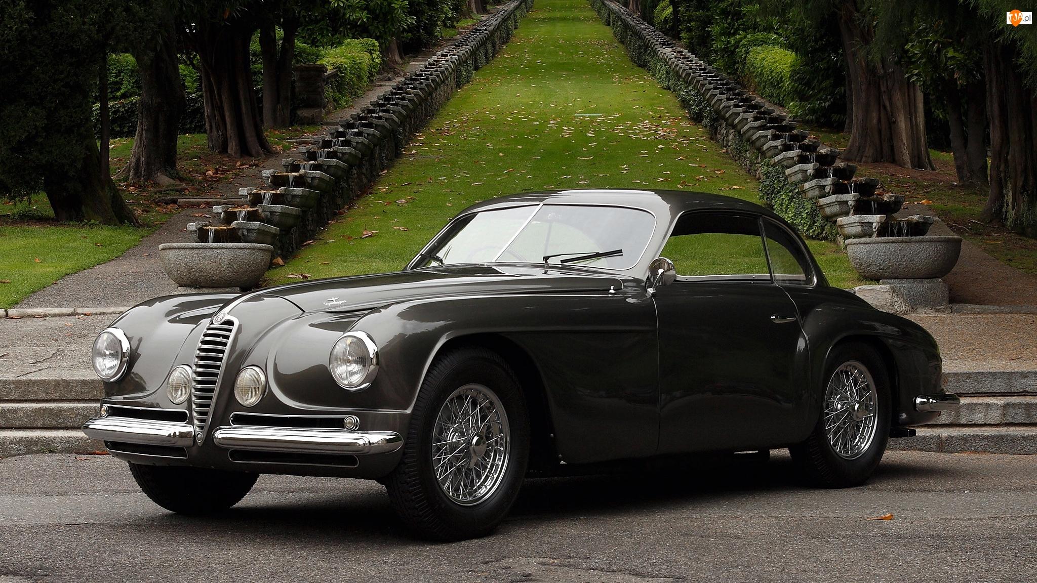 1949-1952, Zabytkowy, Alfa Romeo 6C 2500 SS Villa dEste