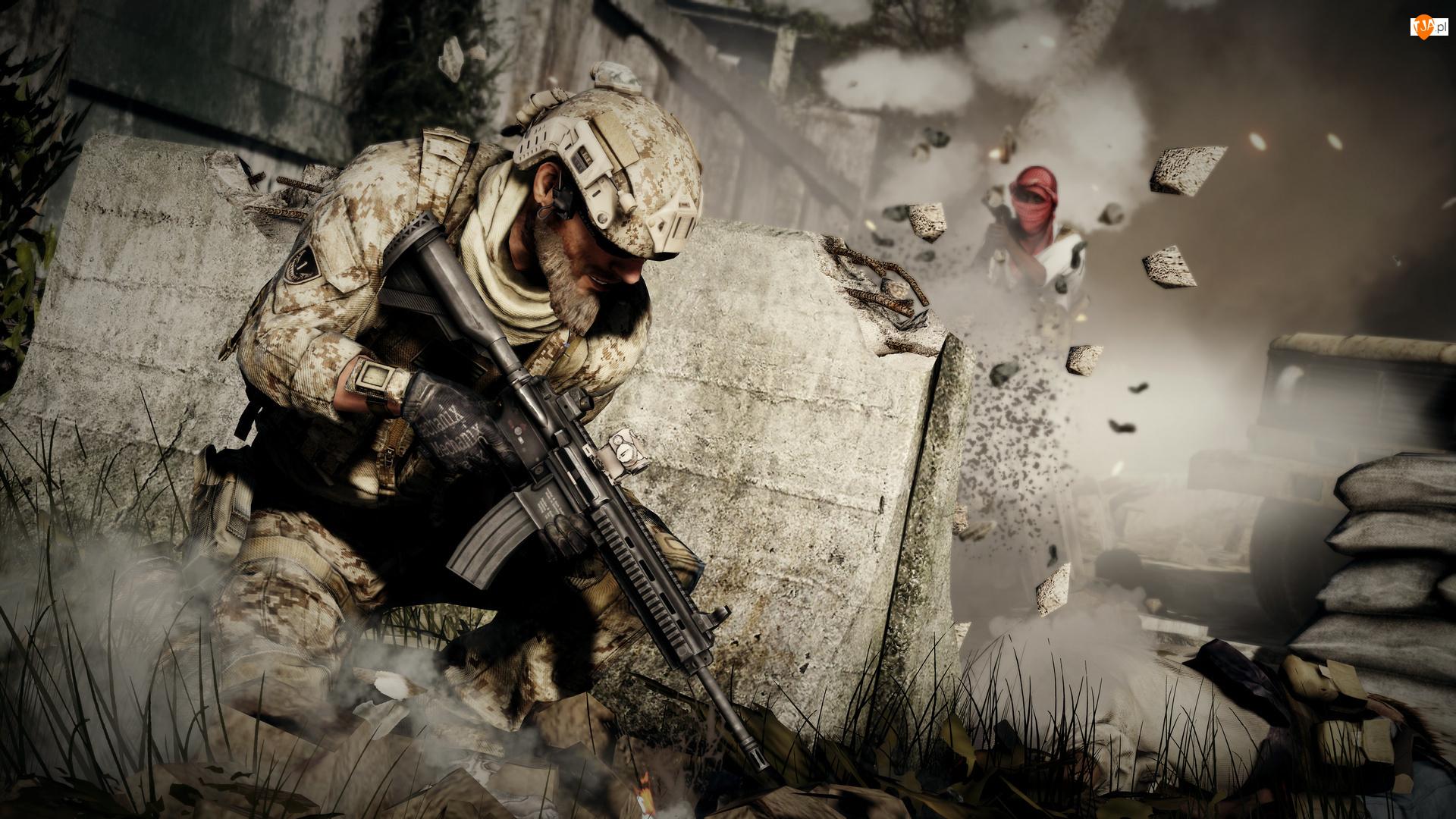 Gra, Wojna, Medal of Honor: Warfighter, Żołnierz