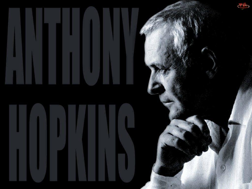 koszula, Anthony Hopkins, biała