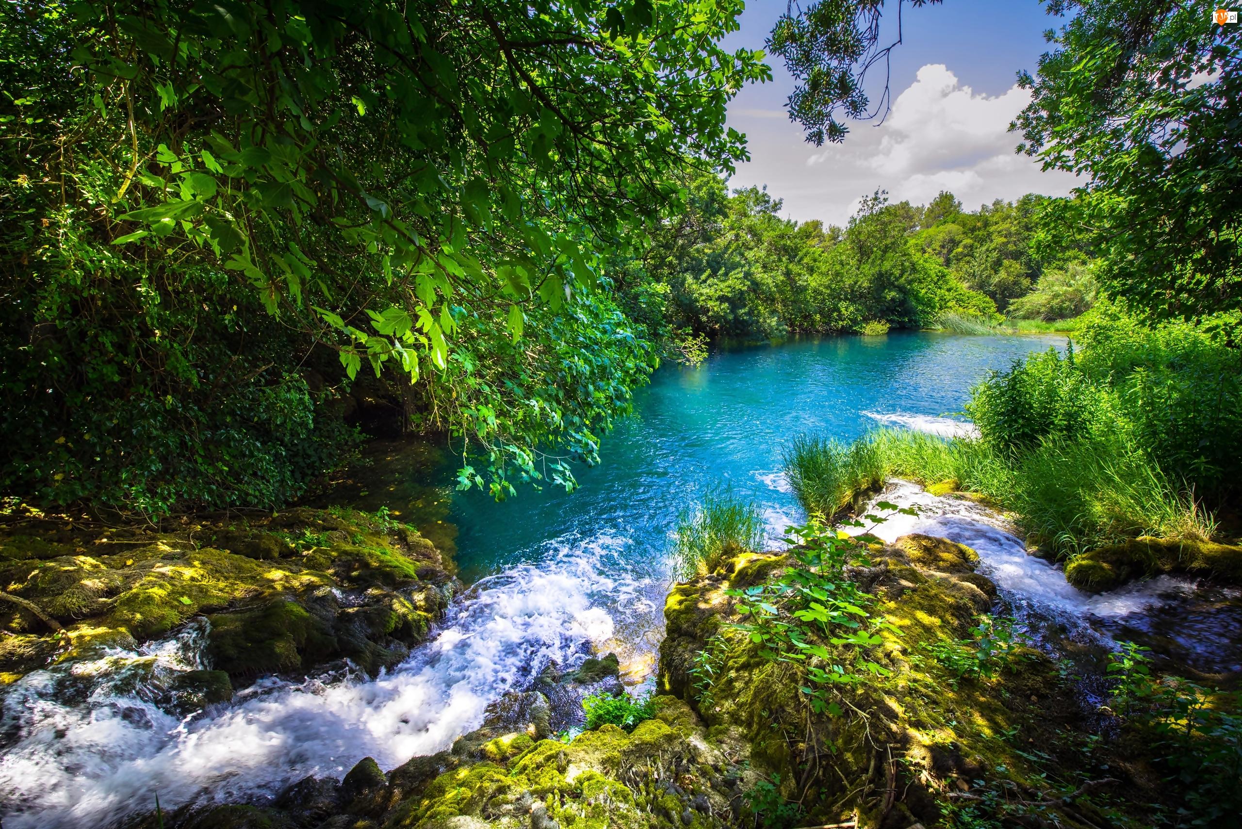 Chorwacja, Rzeka Krka, Dalmacja, Park Narodowy Krka