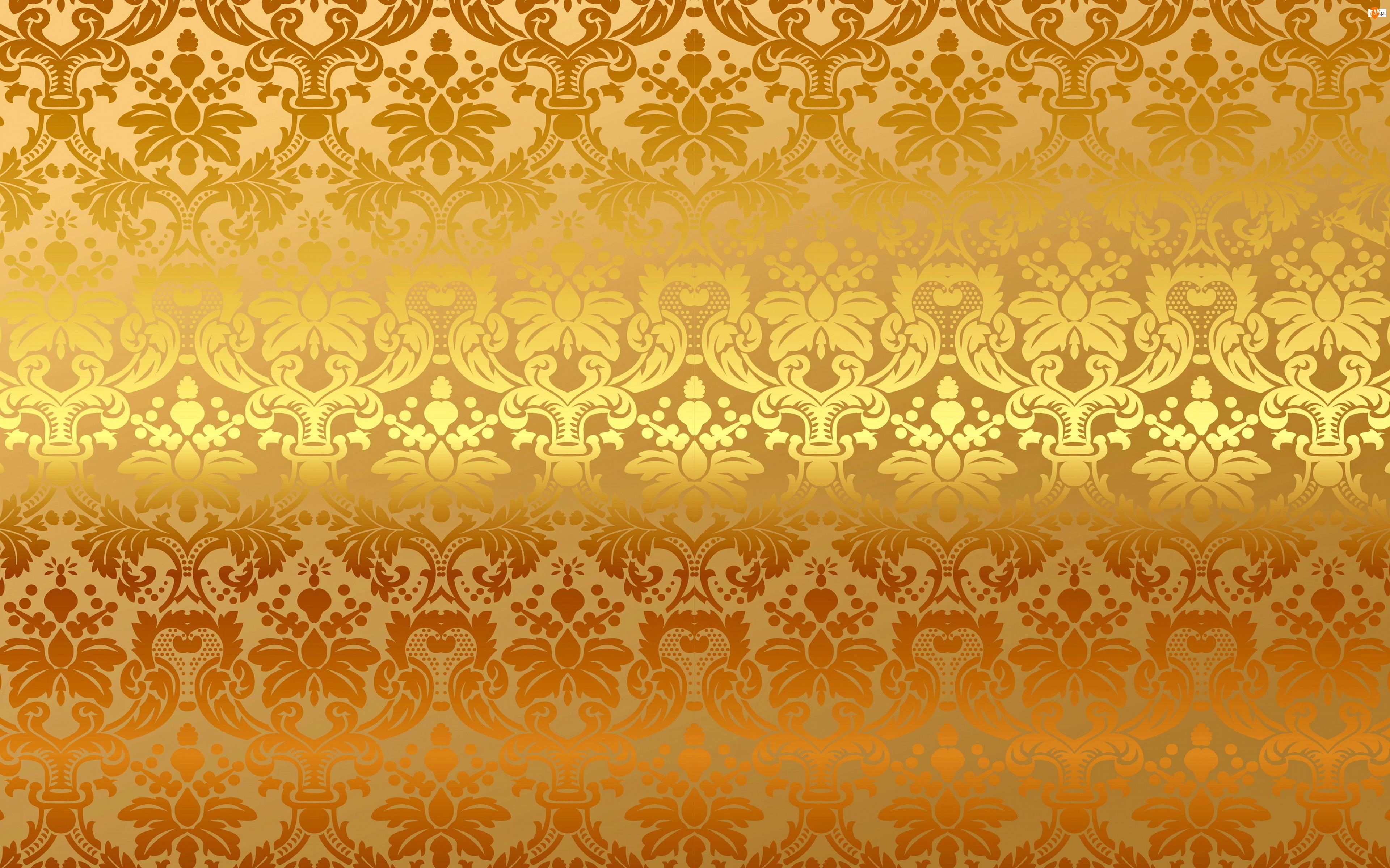 Ornament, Tekstura, Złoto