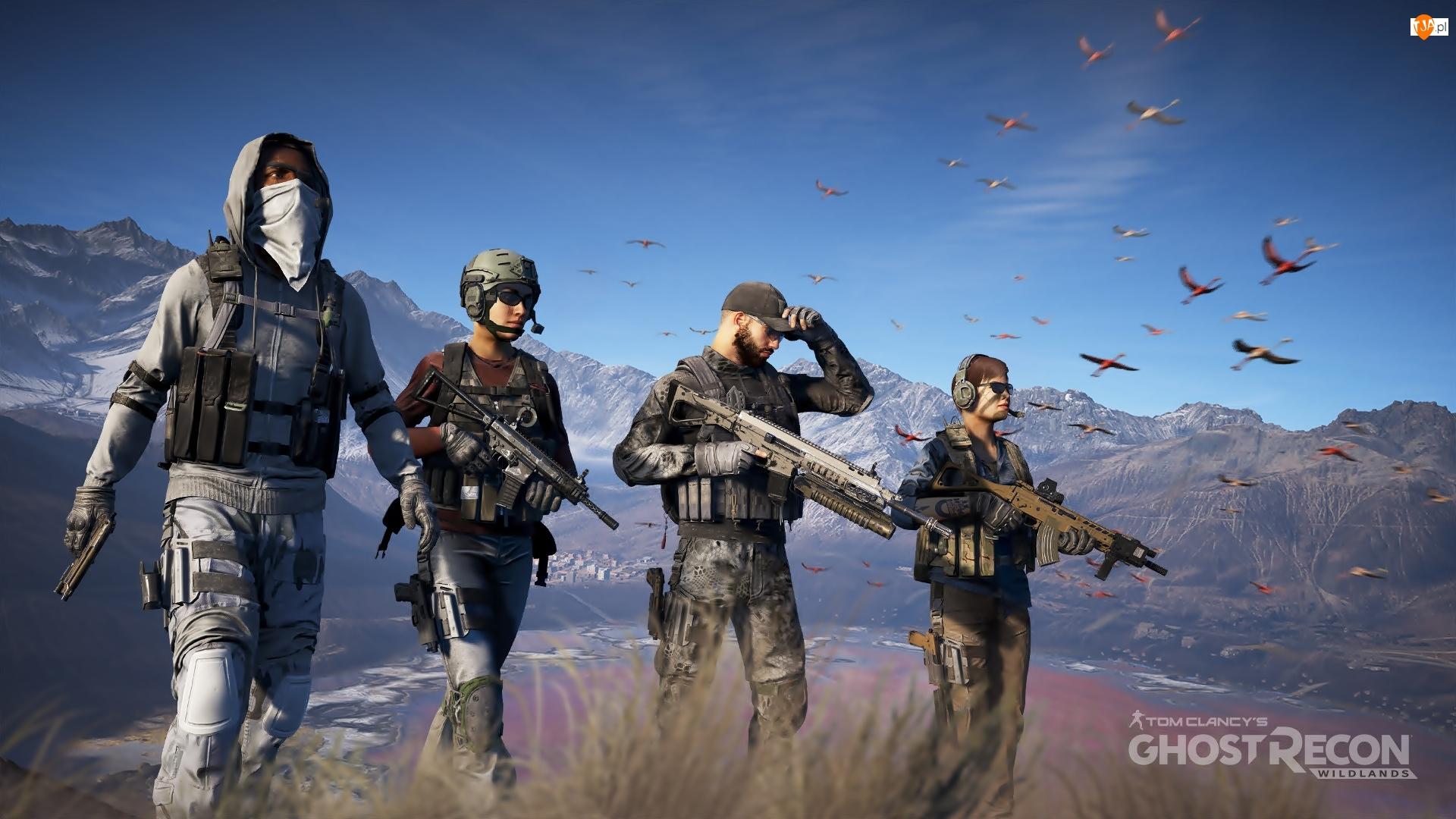 Tom Clancys Ghost Recon : Wildlands, Żołnierze