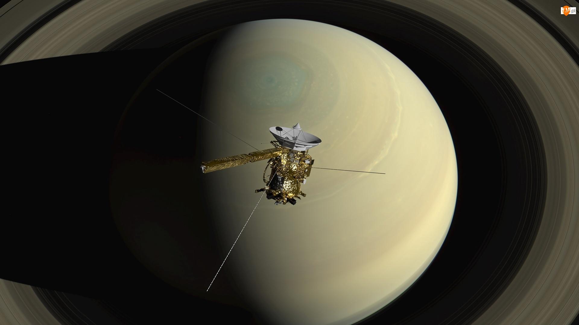 Planeta, Satelita Cassini, Saturn, Przestrzeń