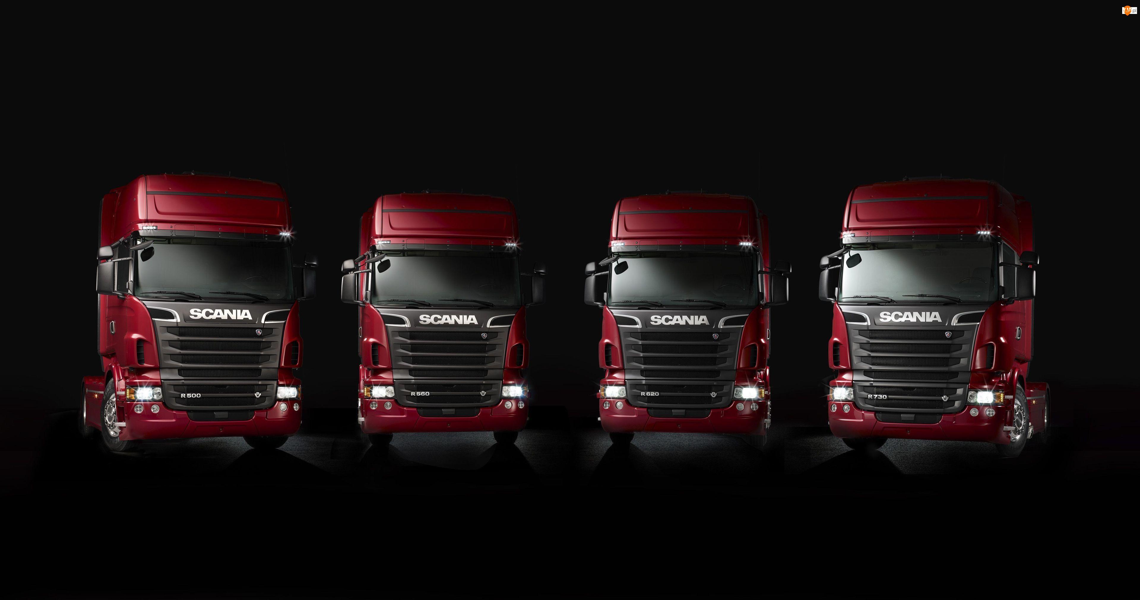 Scania V8 R500, Scania V8 R620, Cztery, Scania V8 R730, Ciężarówki, Scania V8 R560