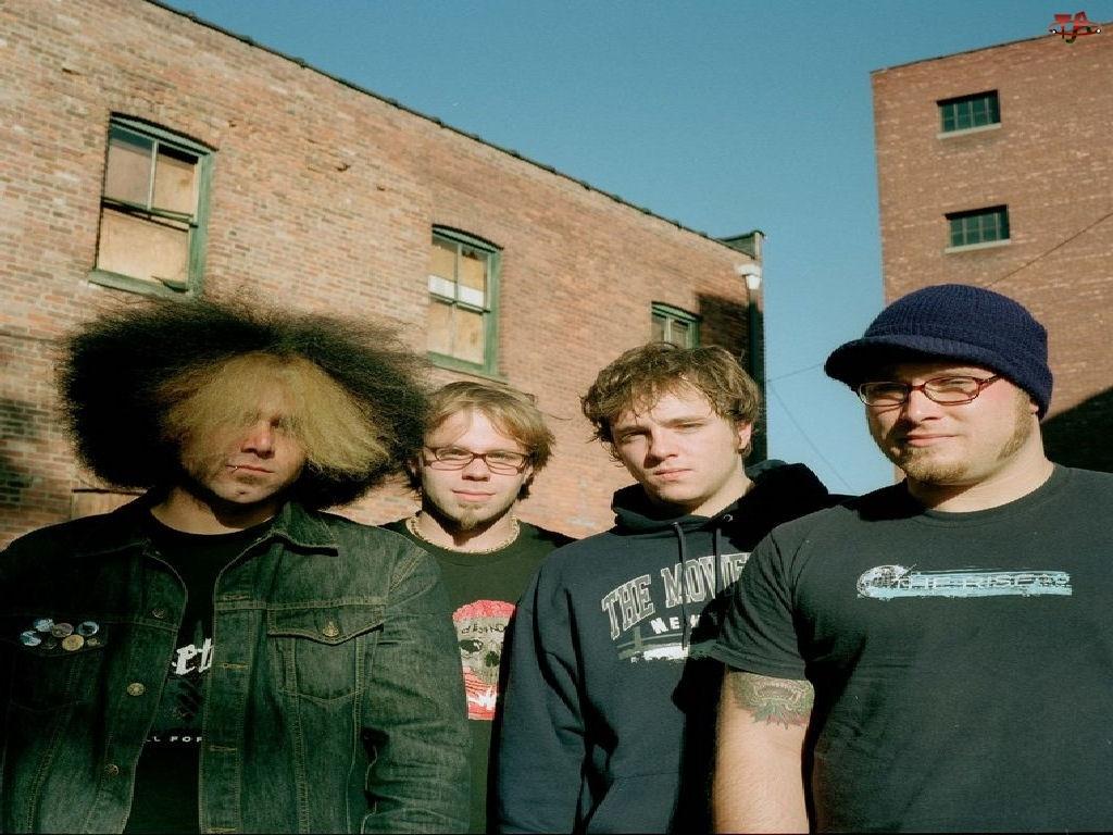 Coheed And Cambria, zespół, tatuaż, włosy