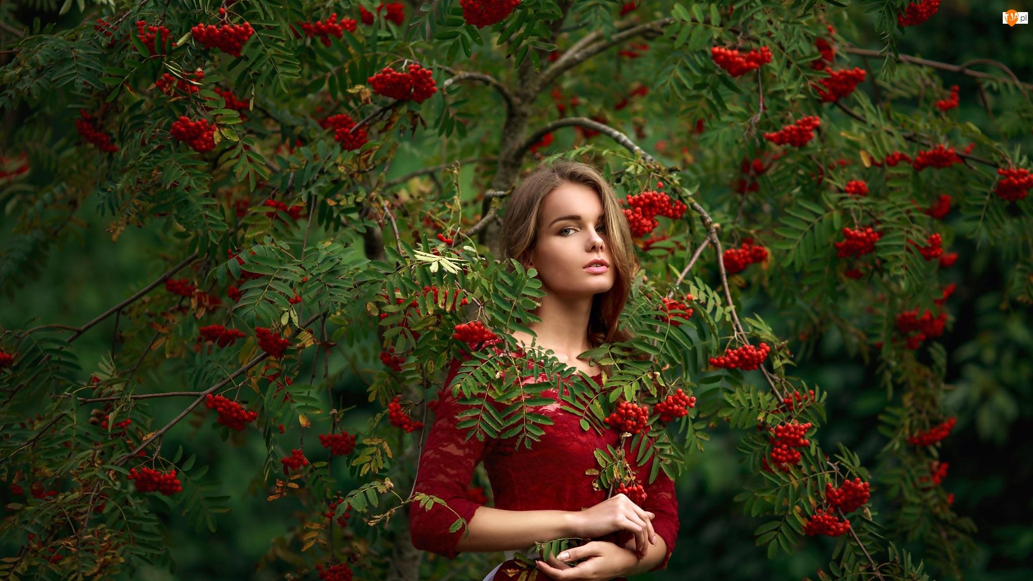 Jarzębina, Dziewczyna, Irina Regent, Modelka