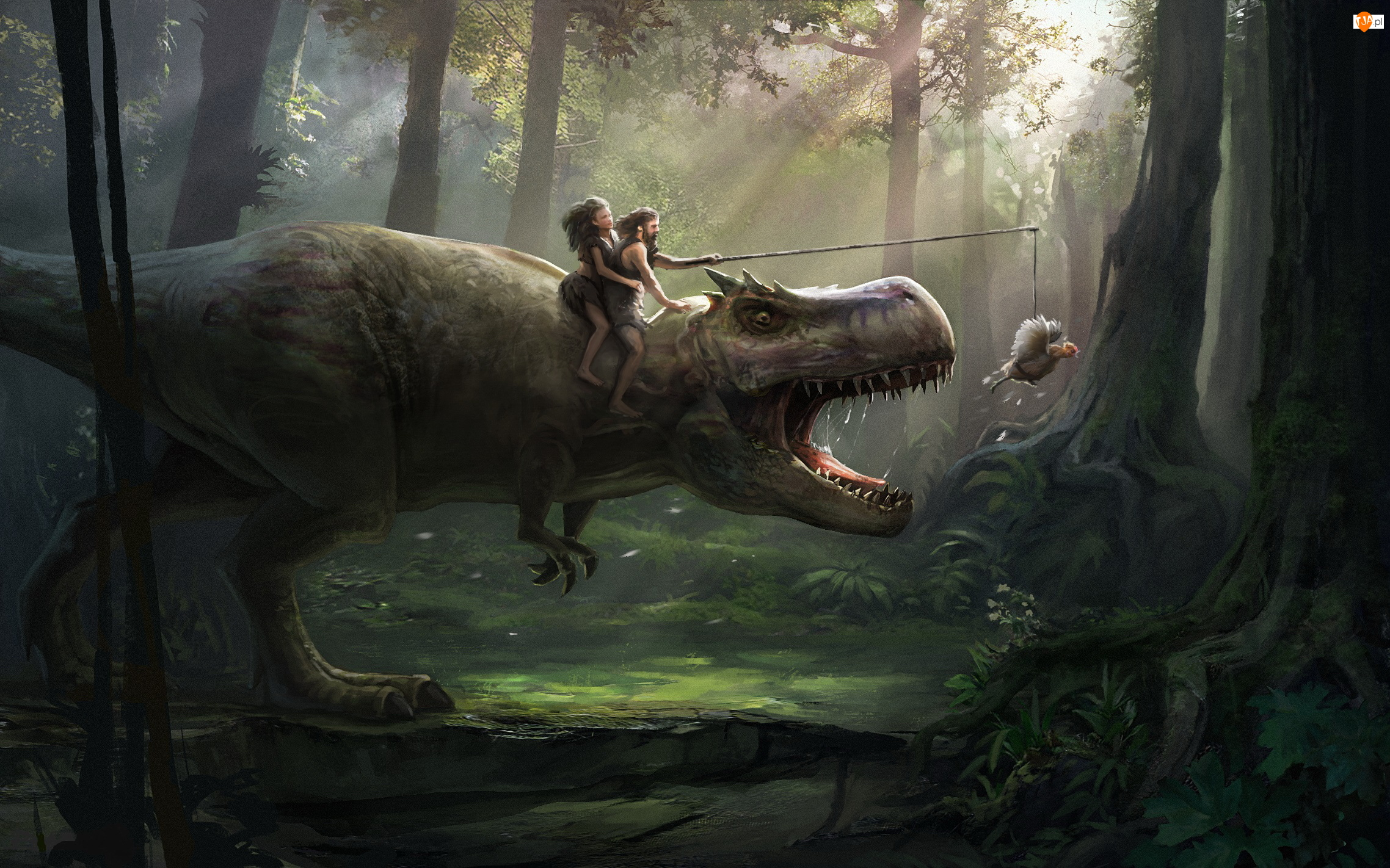 Las, Dinozaur, Śmieszne