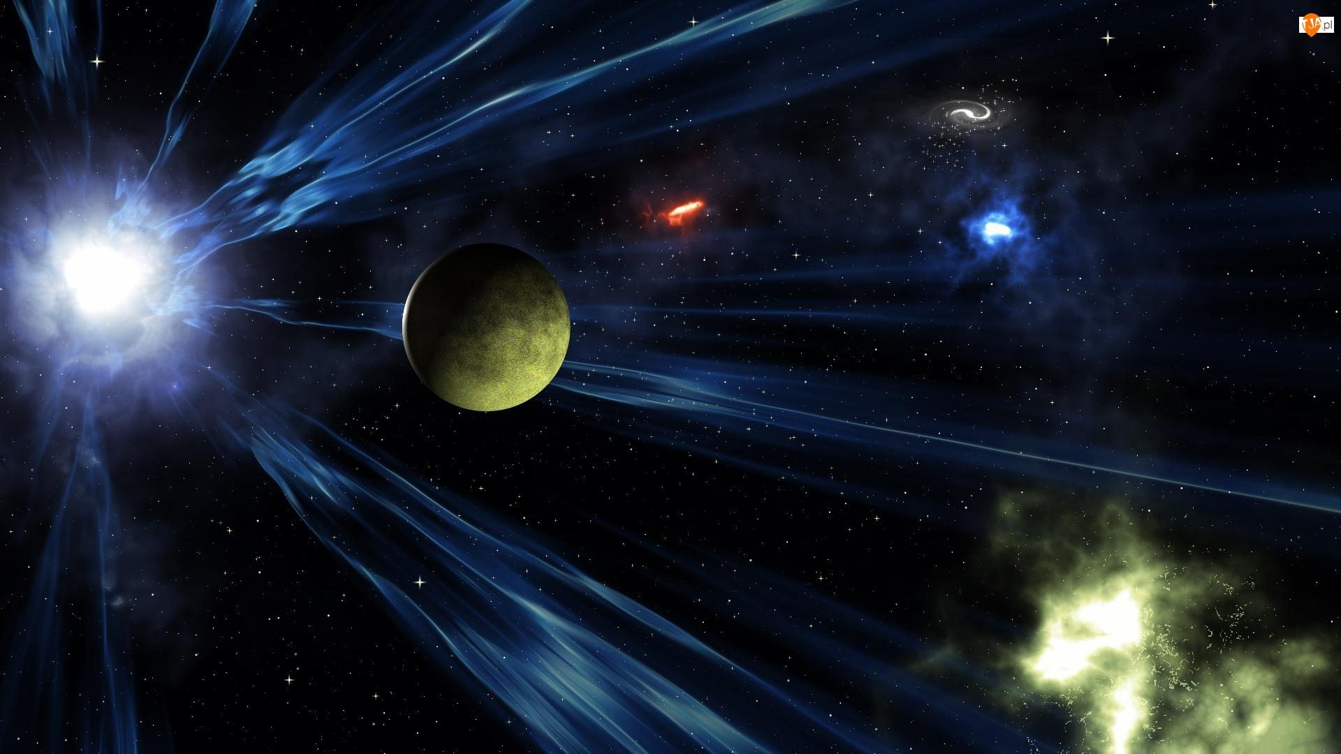 Kosmos, Gwiazdy, Planeta