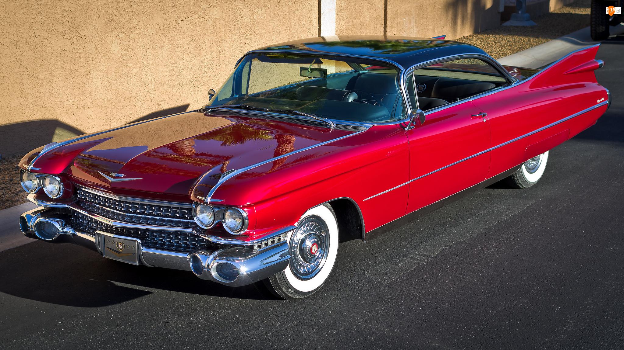1959, Zabytkowy, Cadillac Eldorado Biarritz