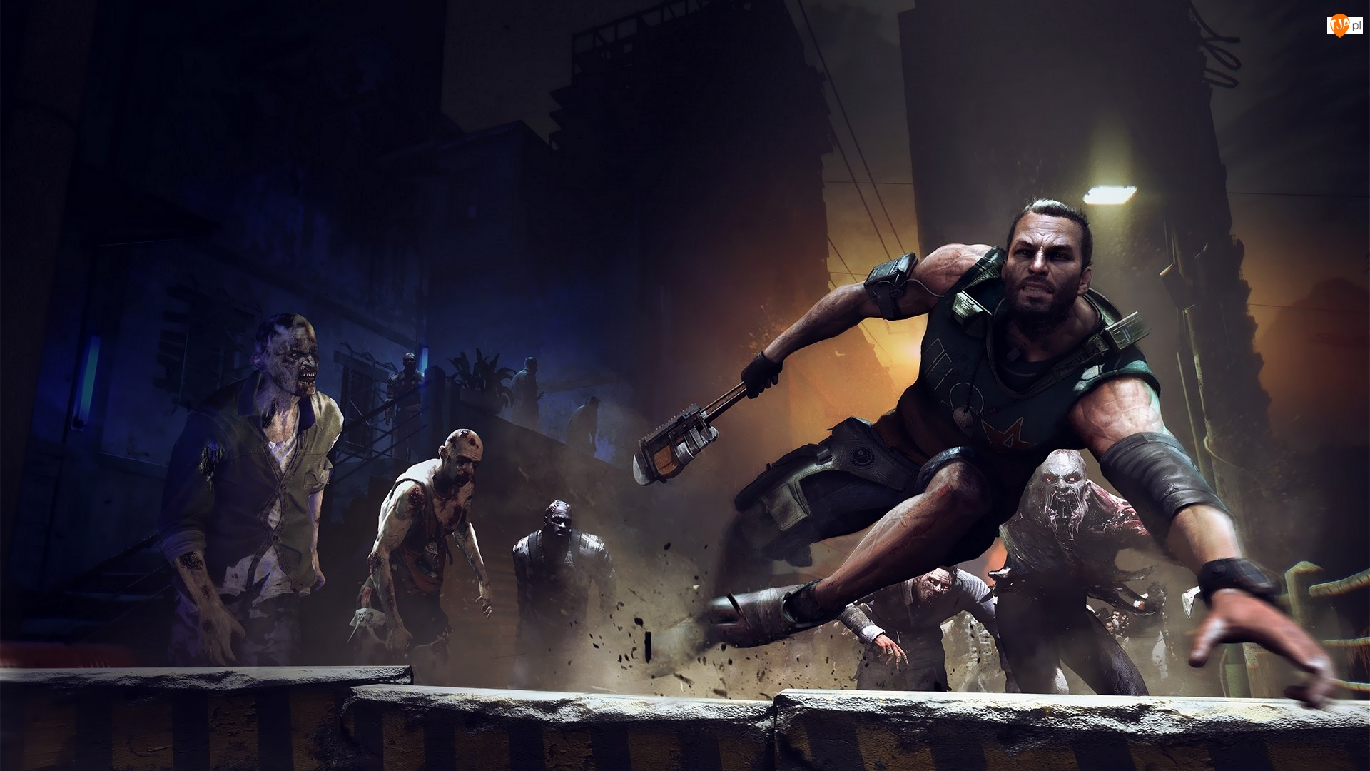 Zombie, Dying Light, Agent Kyle
