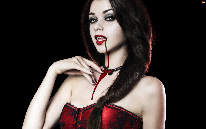 Krew, Kobieta, Wampir