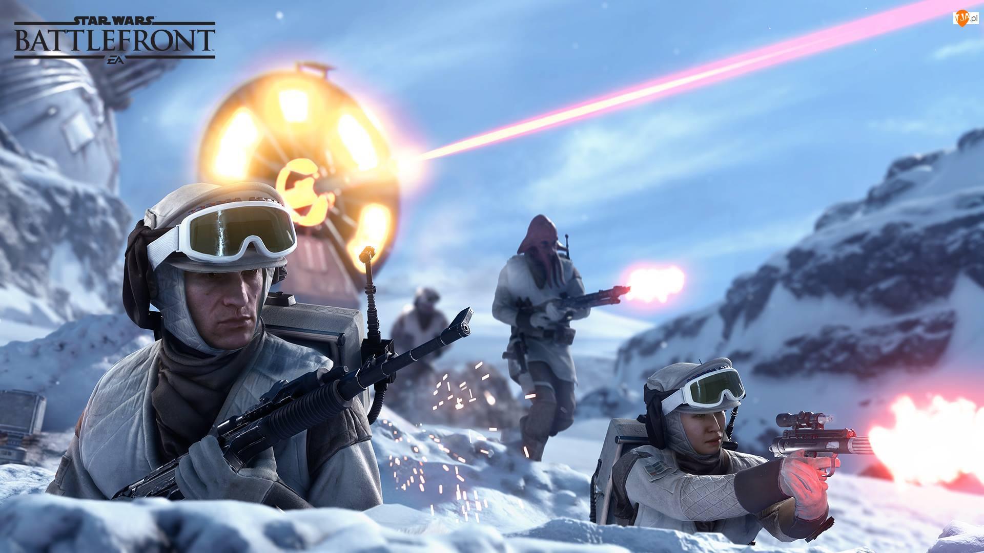Planeta Hoth, Star Wars: Battlefront, Rebelianci