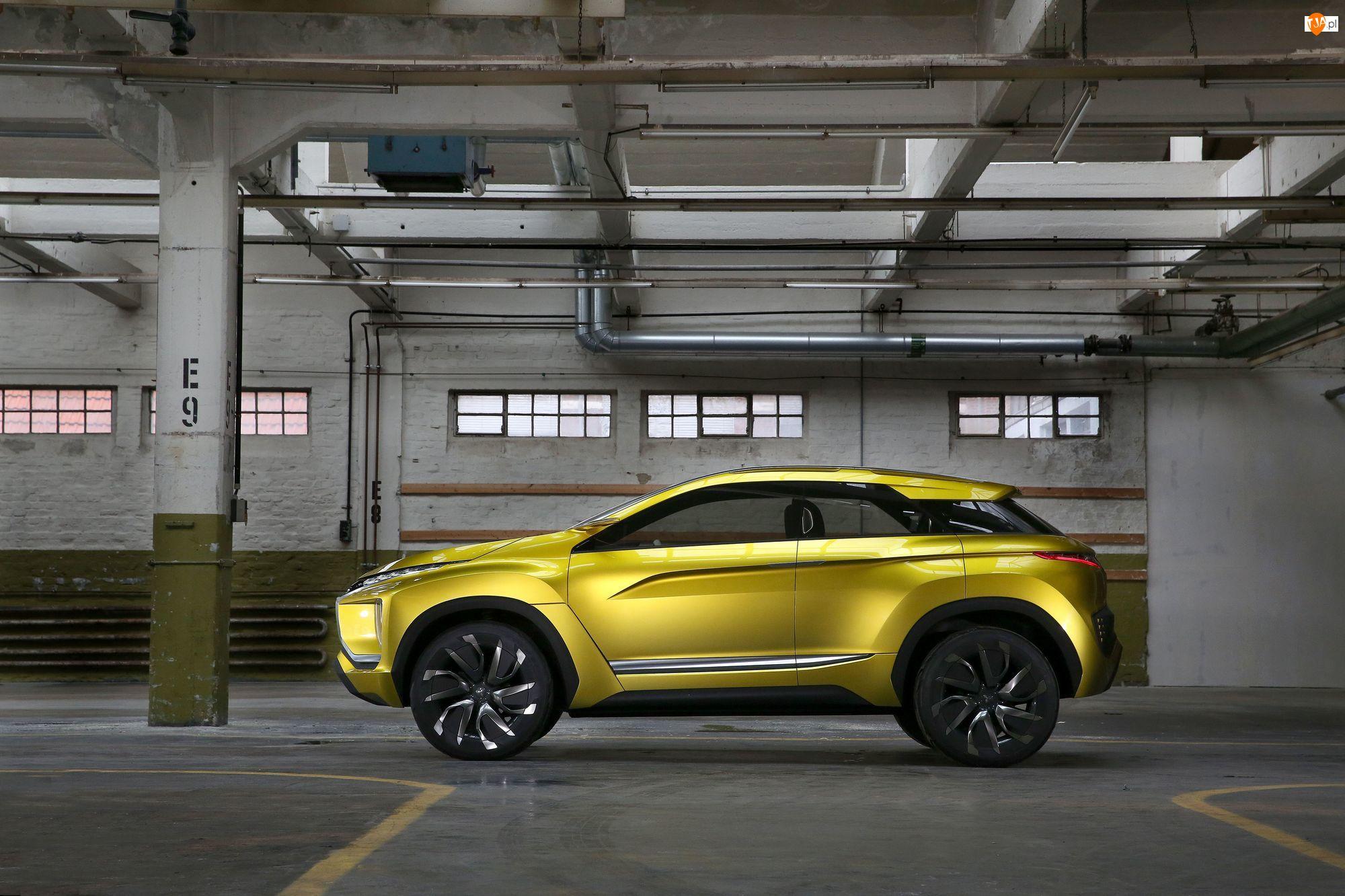 2015, Żółty, Mitsubishi eX Concept