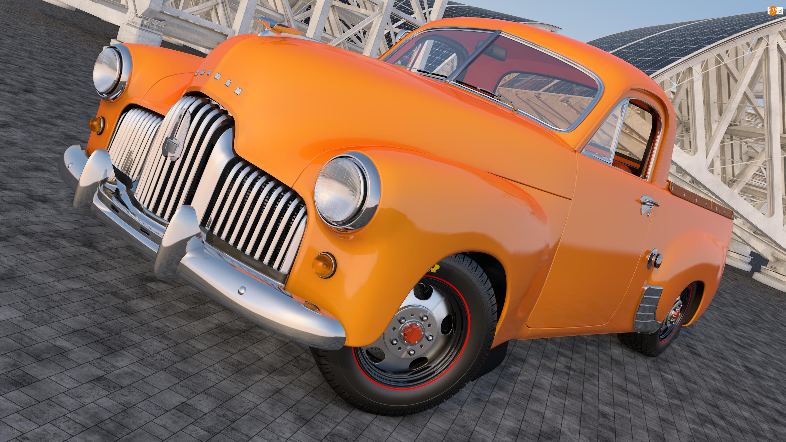 1951, Zabytkowy, Holden 50-2106 FX