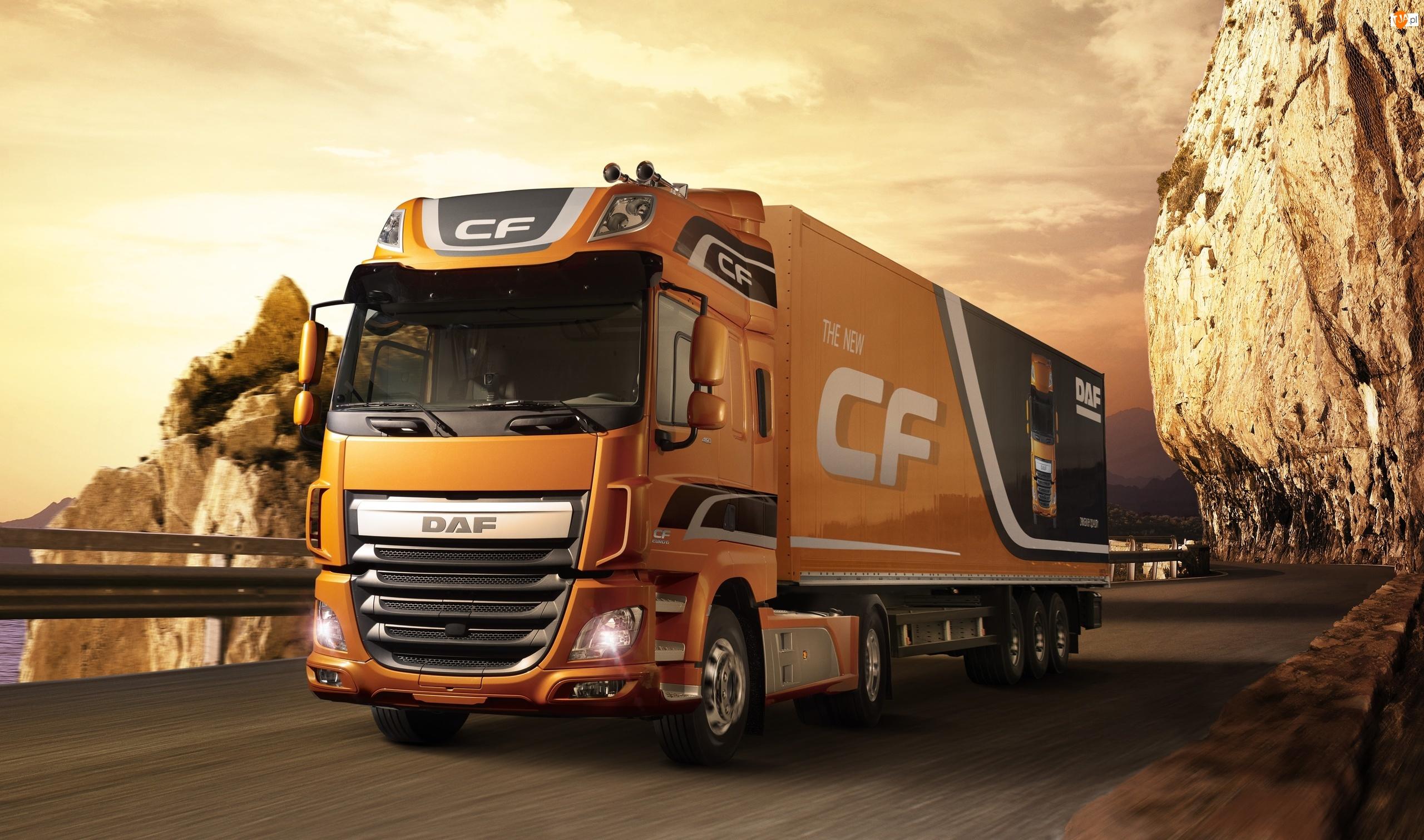 Ciężarówka DAF CF Euro 6, 2013
