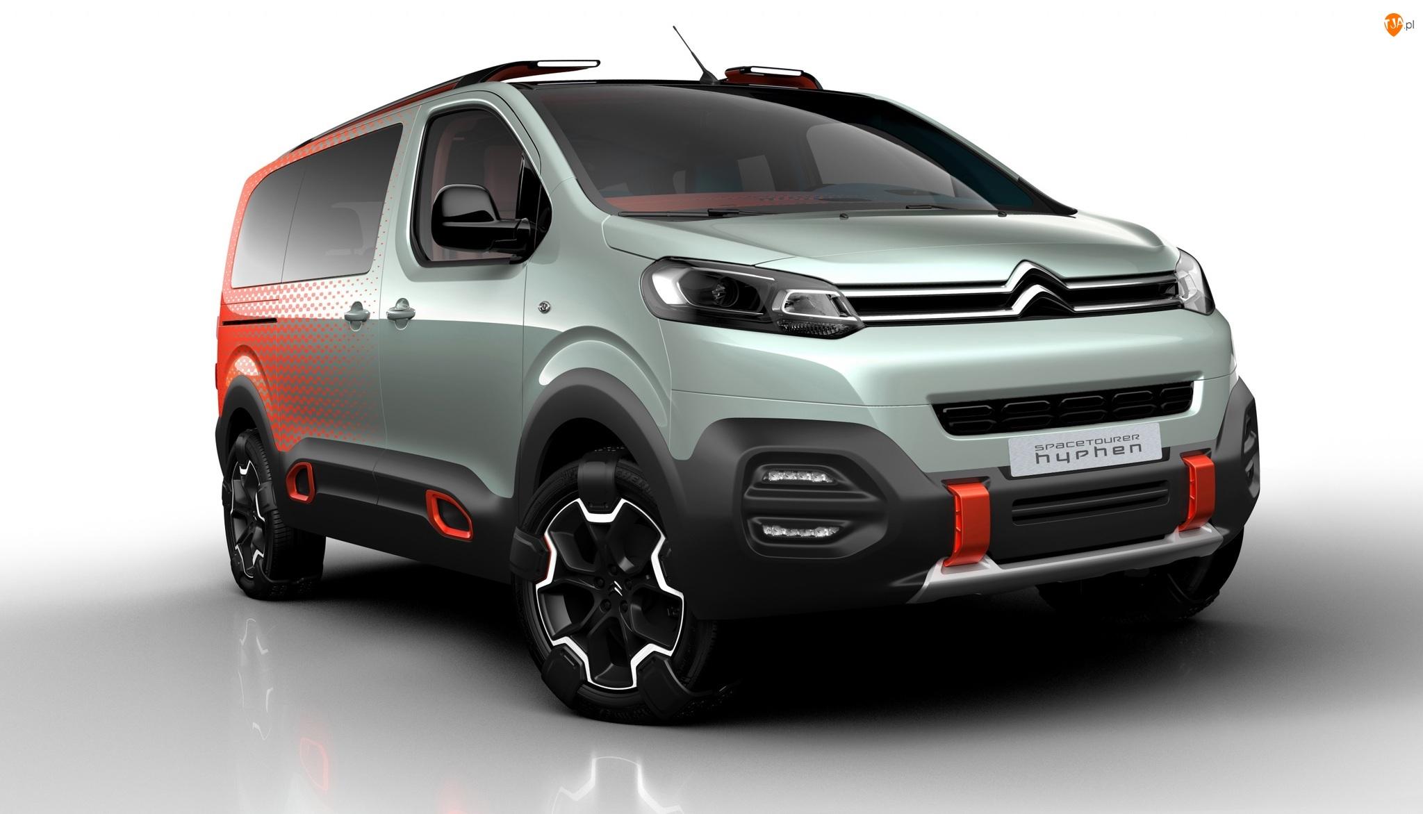 Citroën SpaceTourer Hyphen Concept, 2016