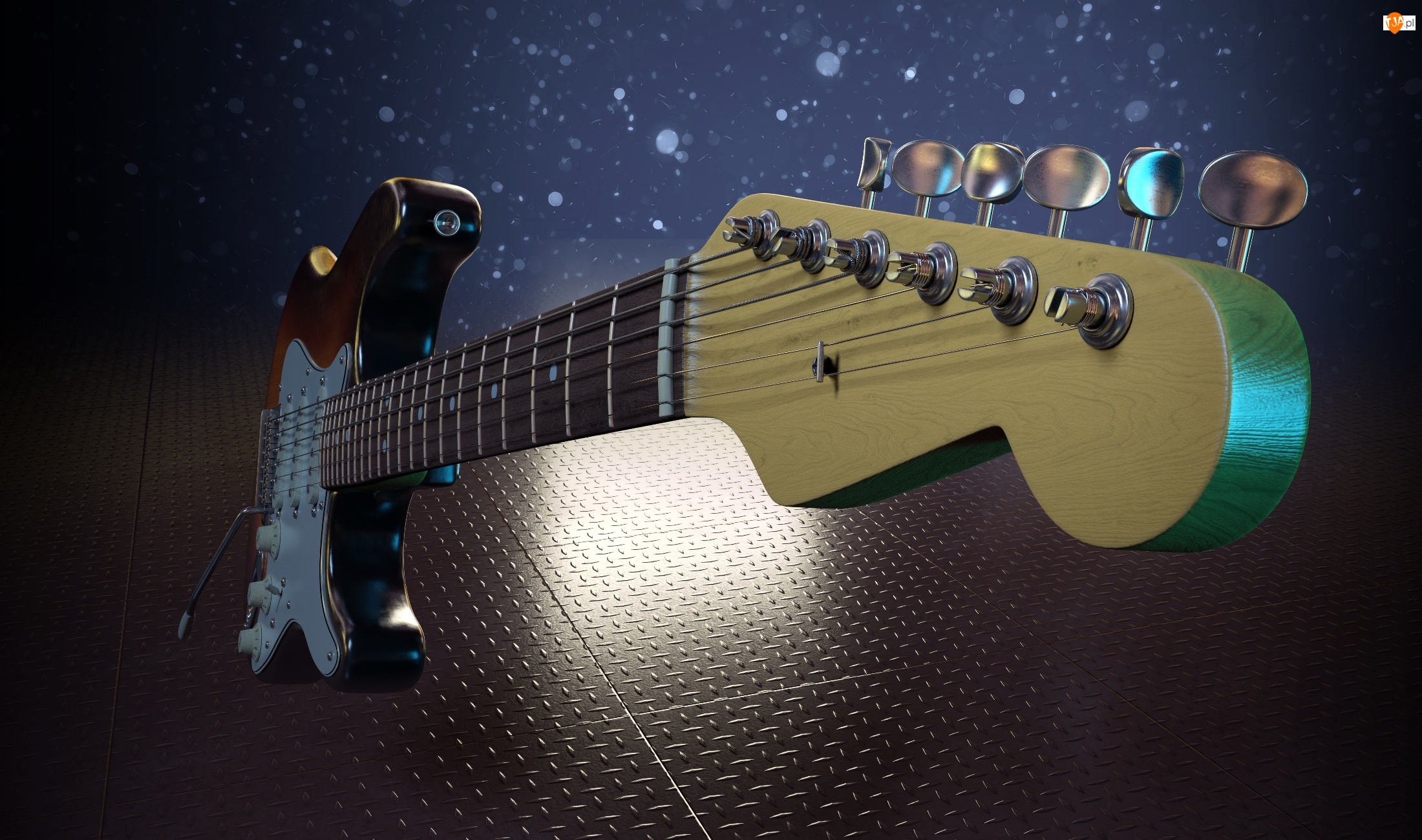Struny, Elektryczna, Gitara