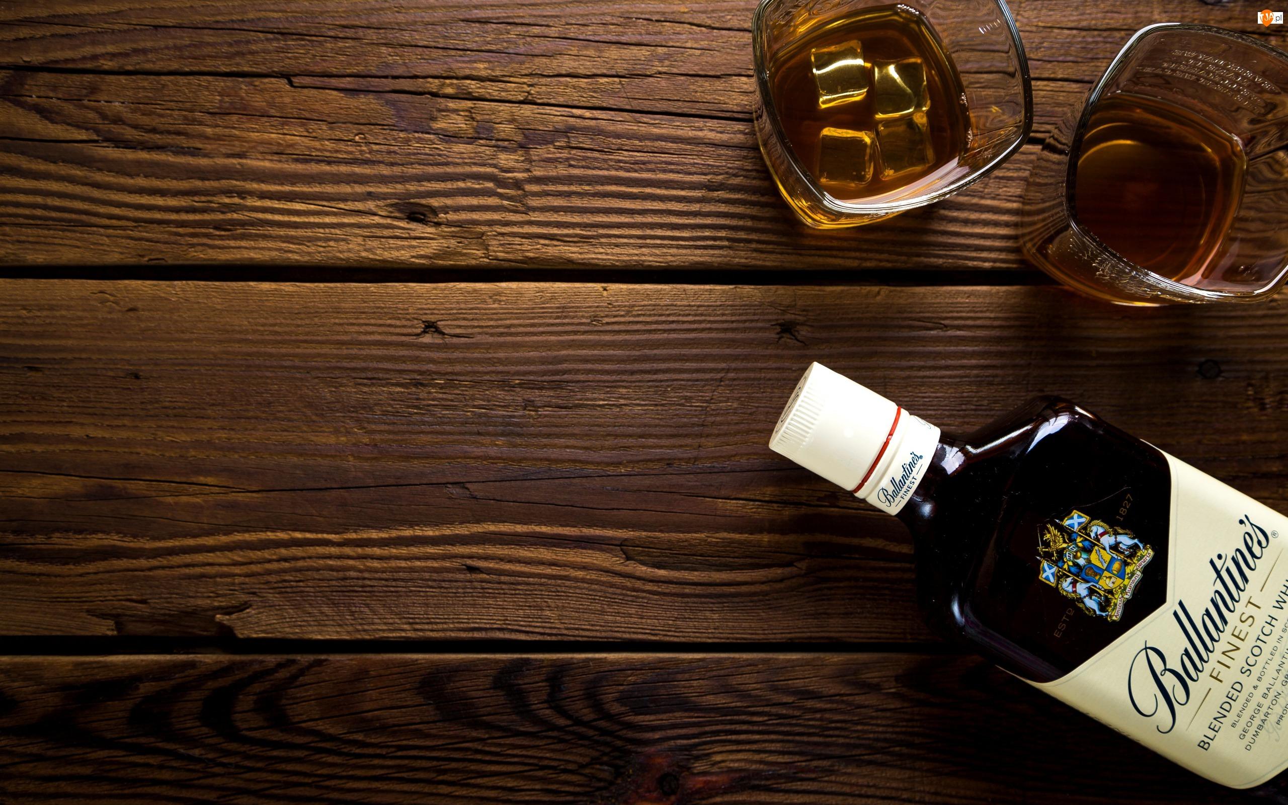 Dwa, Ballantines, Drinki, Whisky
