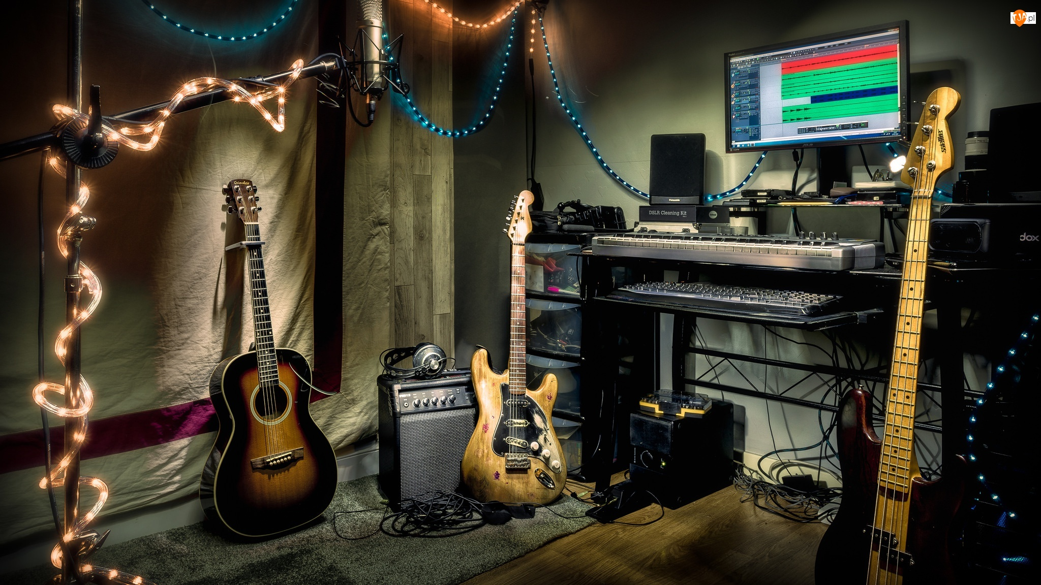 Gitary, Studio, Nagraniowe, Instrumenty