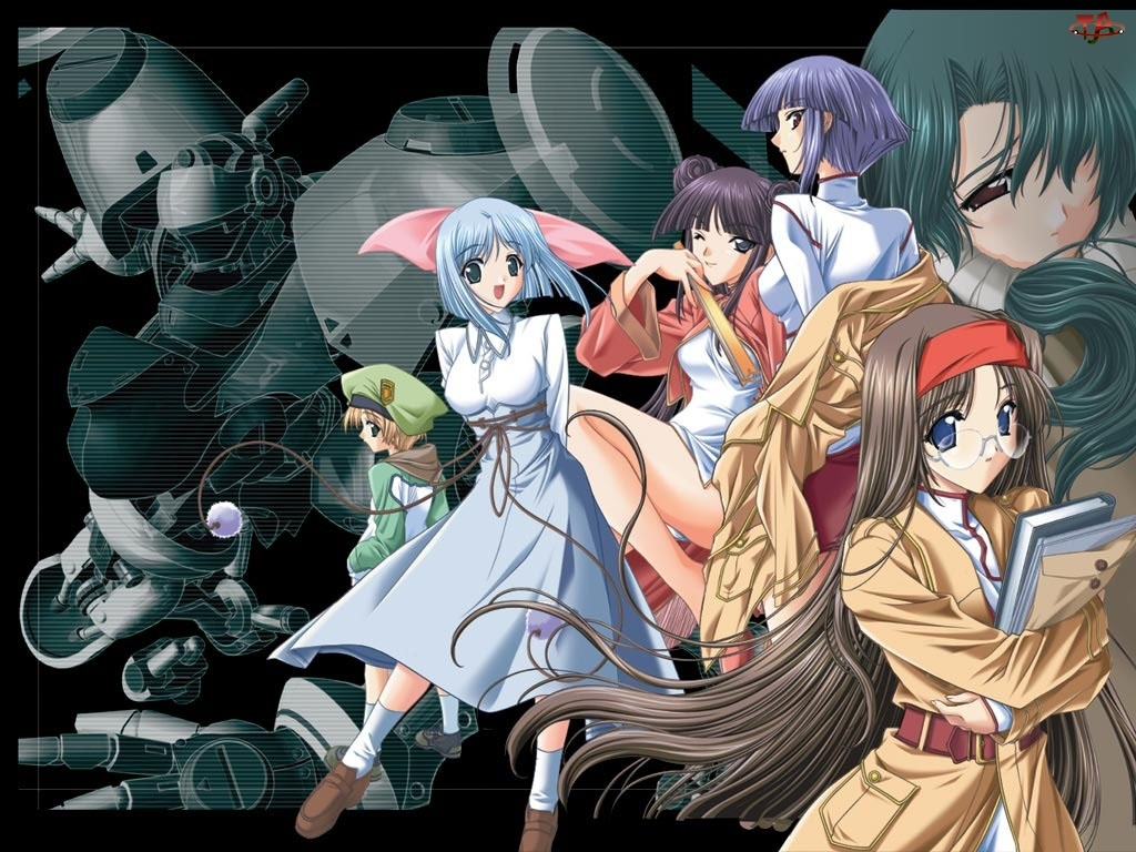 robot, Tsukuyomi Moon Phase, postacie