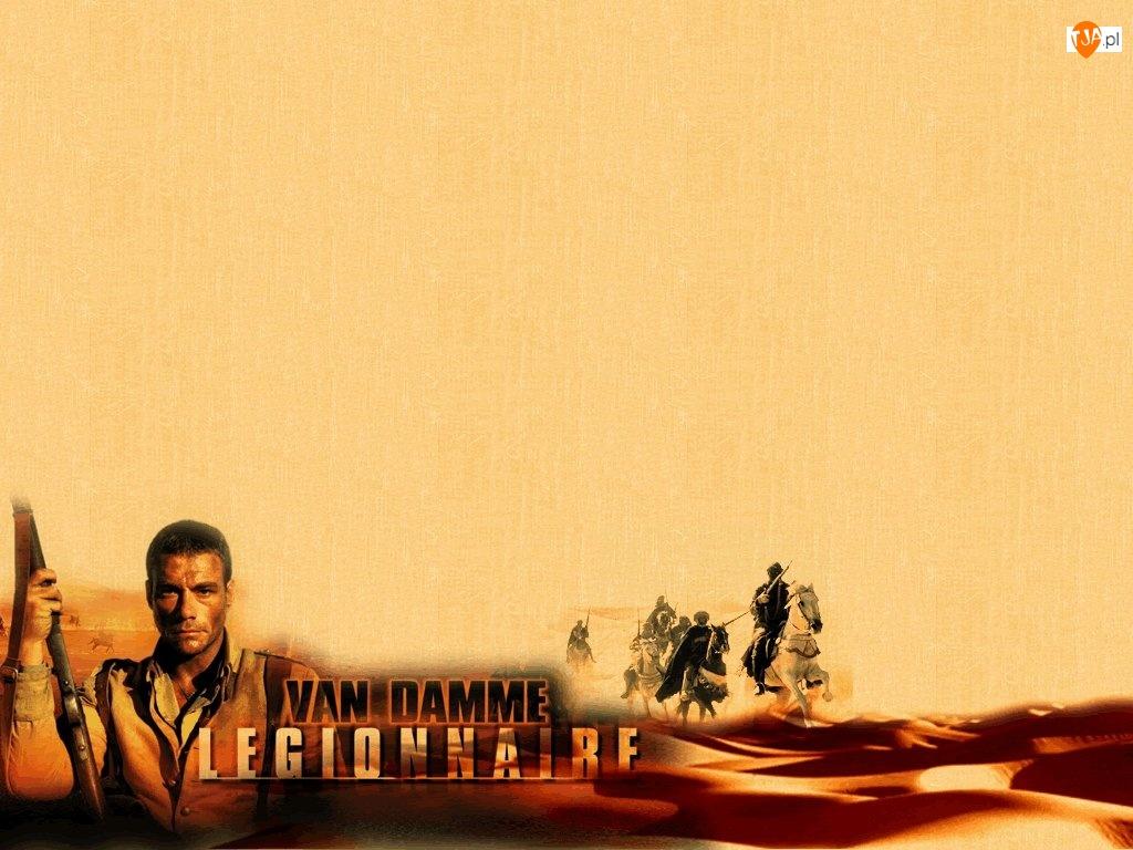 pustynia, Jean Claude Van Damme, broń