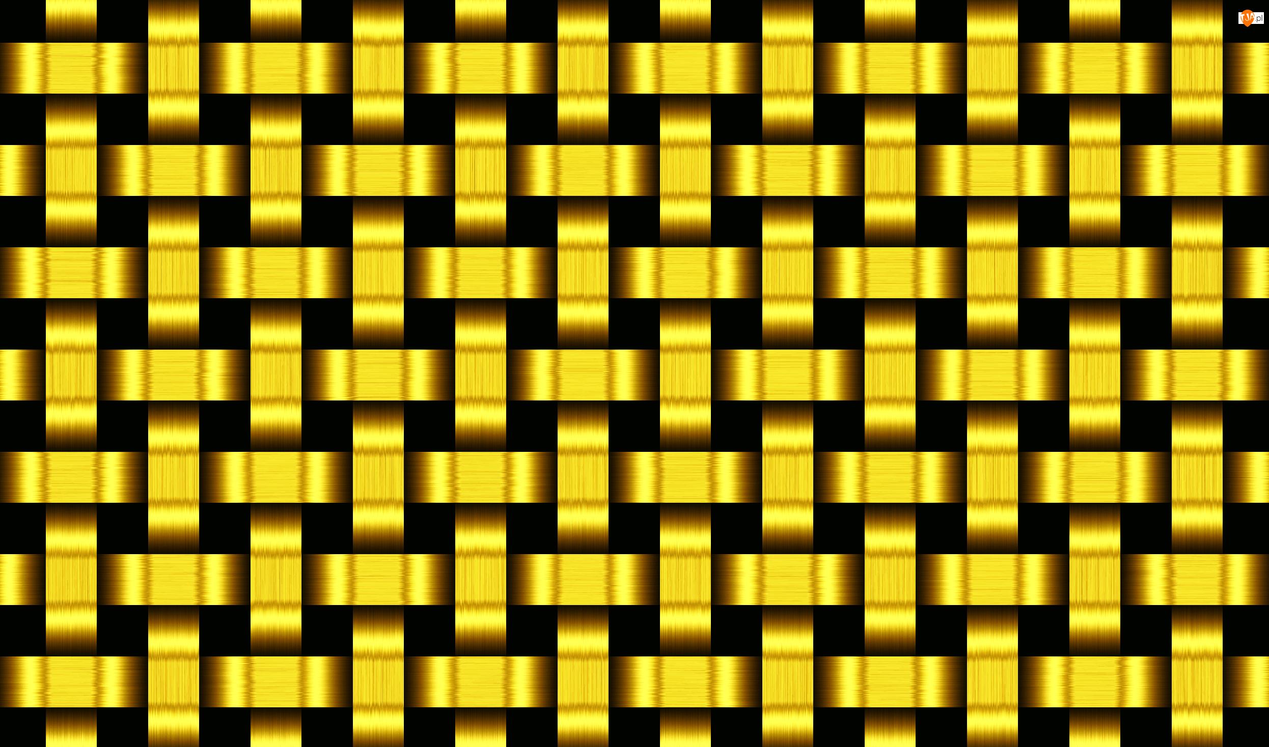 Złota, Tekstura, Plecionka