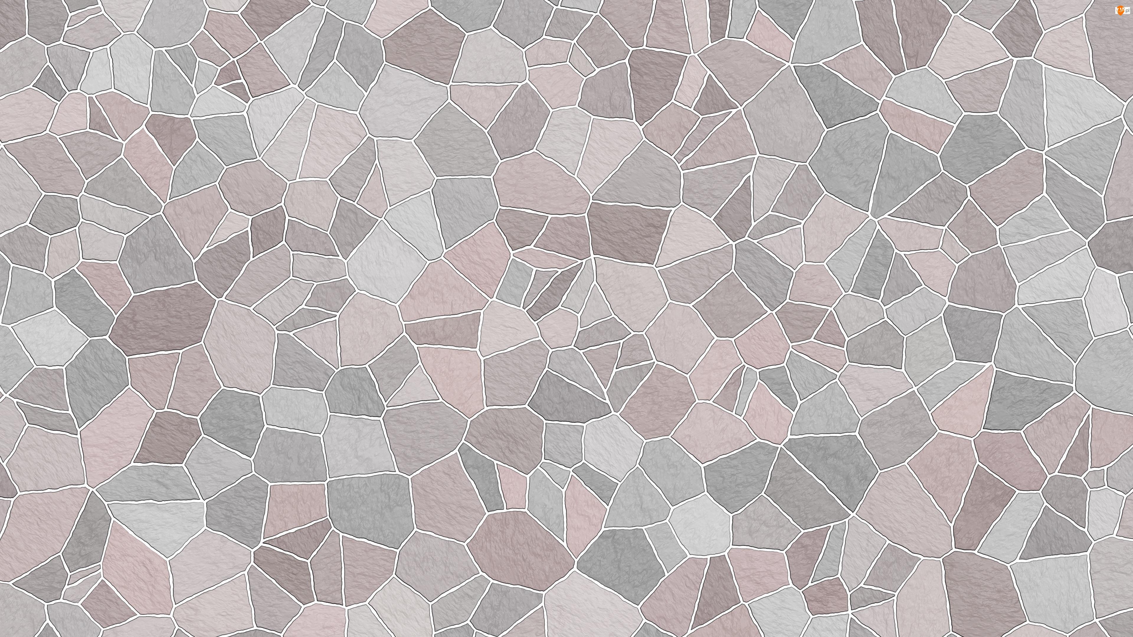 Mozaika, Tekstura, Szara