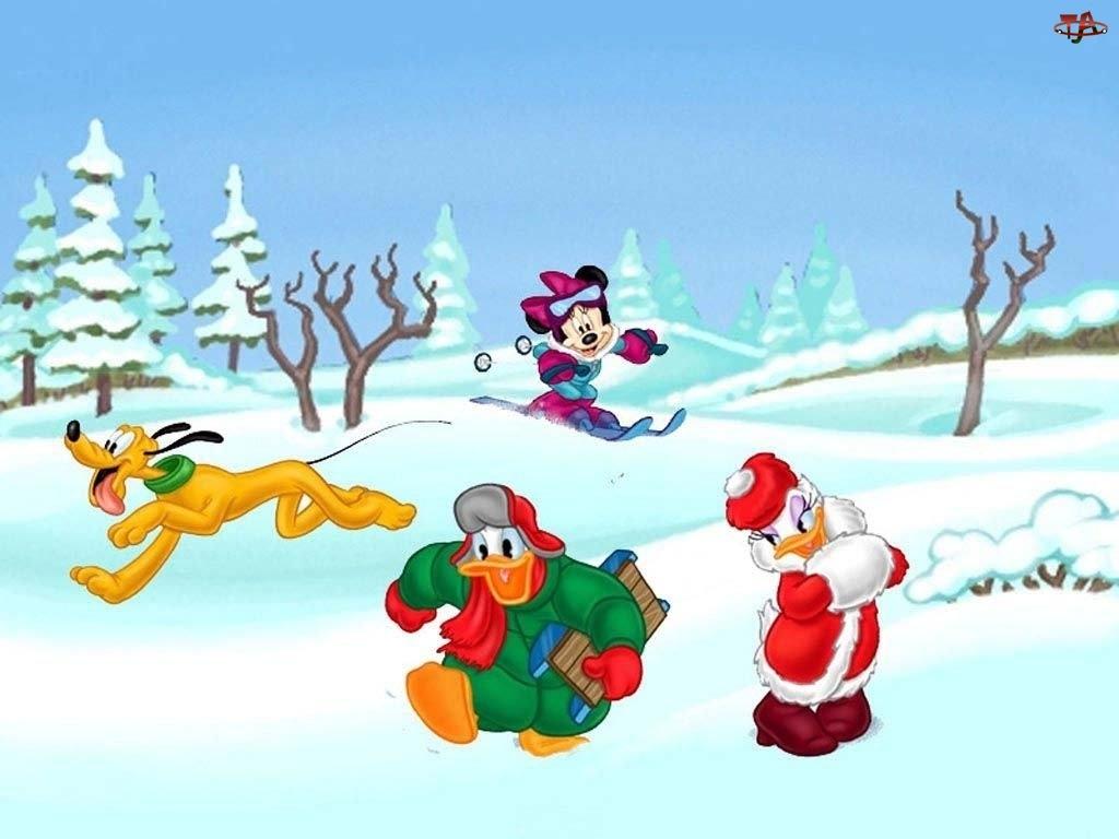 pluto, Boże Narodzenie, Kaczor Donald