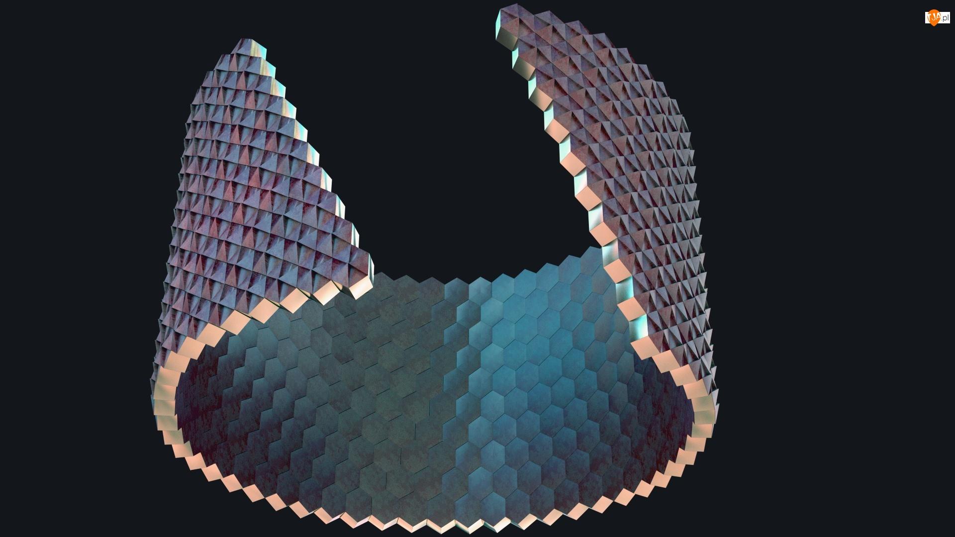 3D, Przerwany, Pierścień