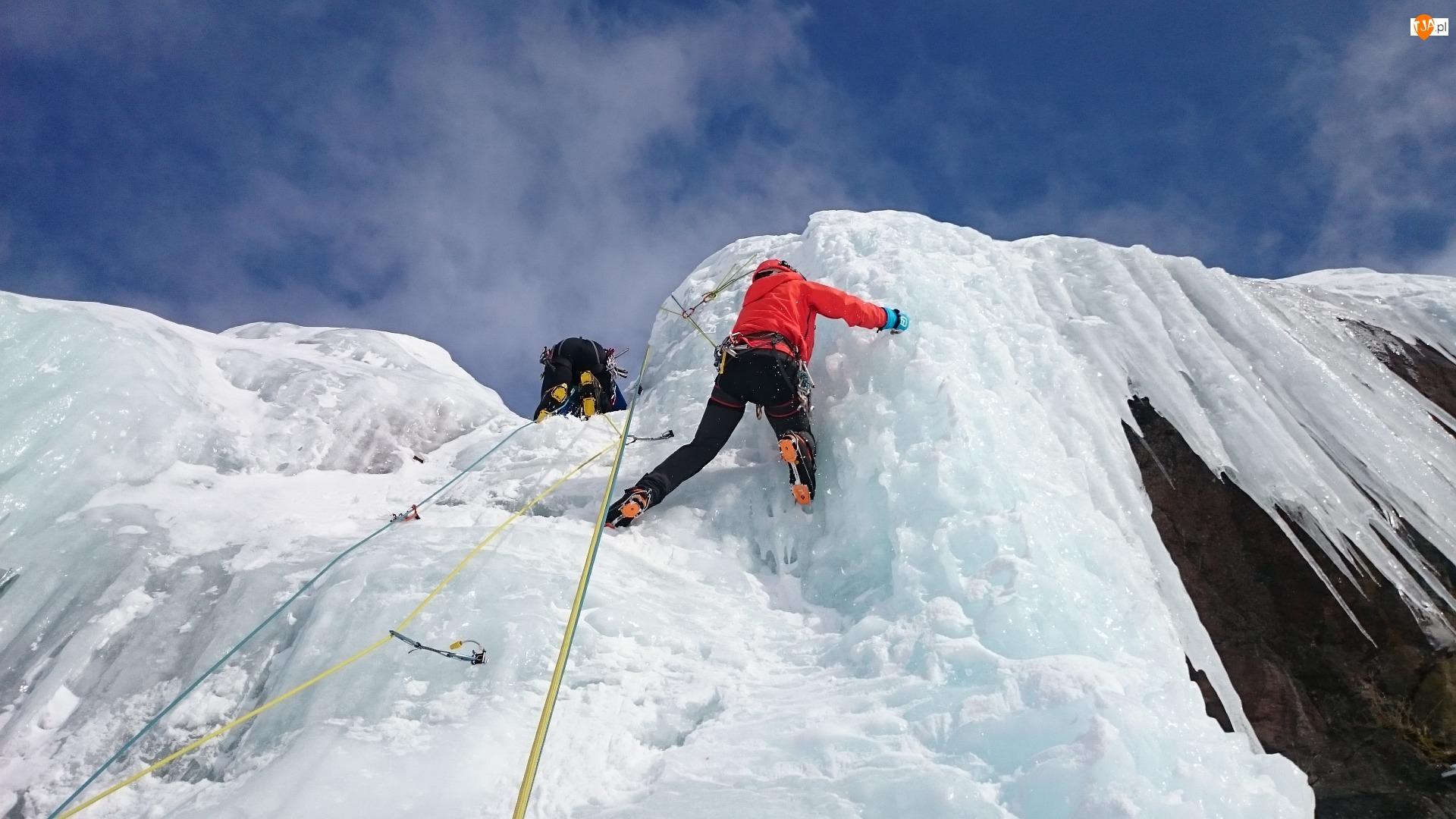 Lodospad, Alpinizm, Alpiniści