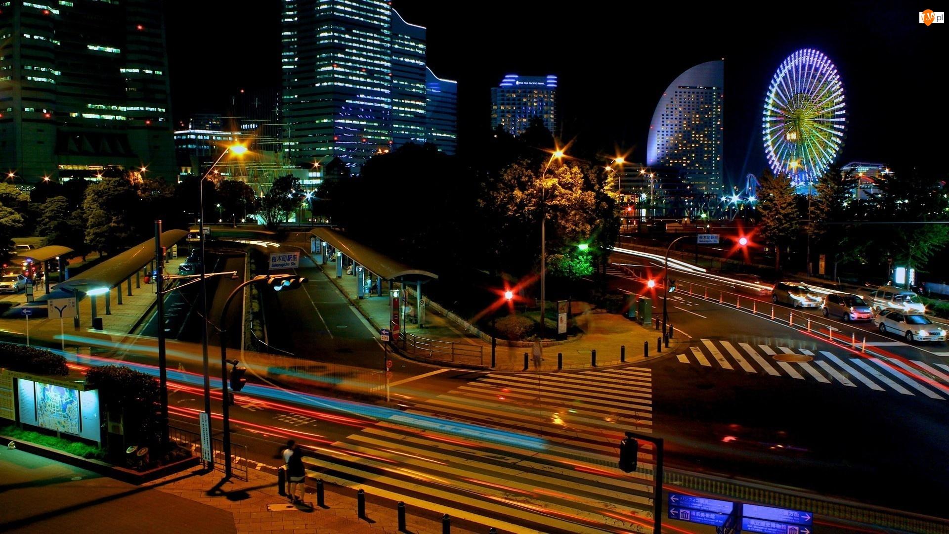 Noc, Yokohama, Japonia