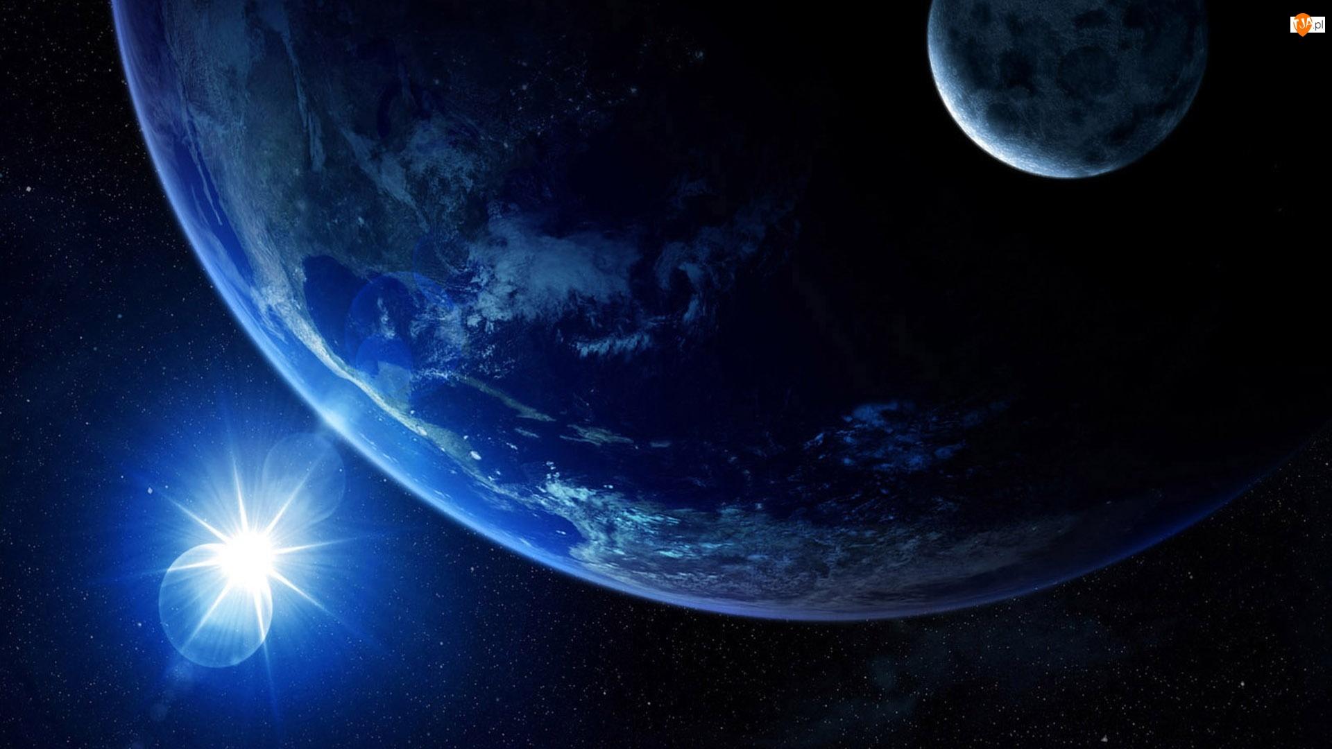 Kosmos, Ziemia