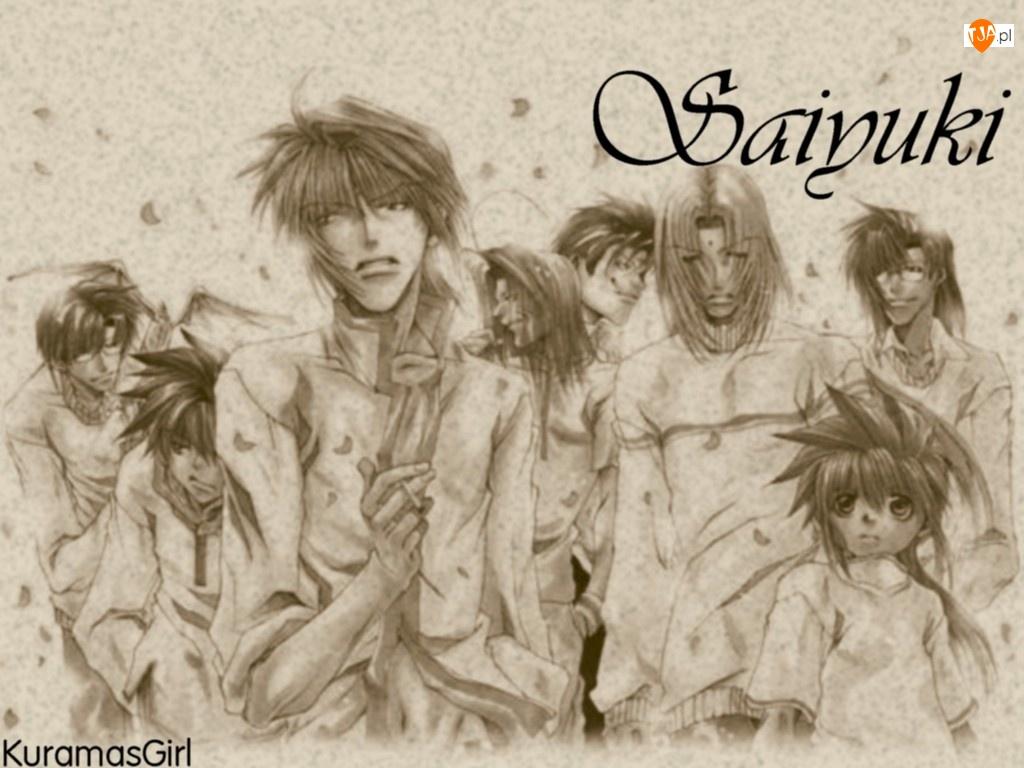 ludzie, Saiyuki, portret