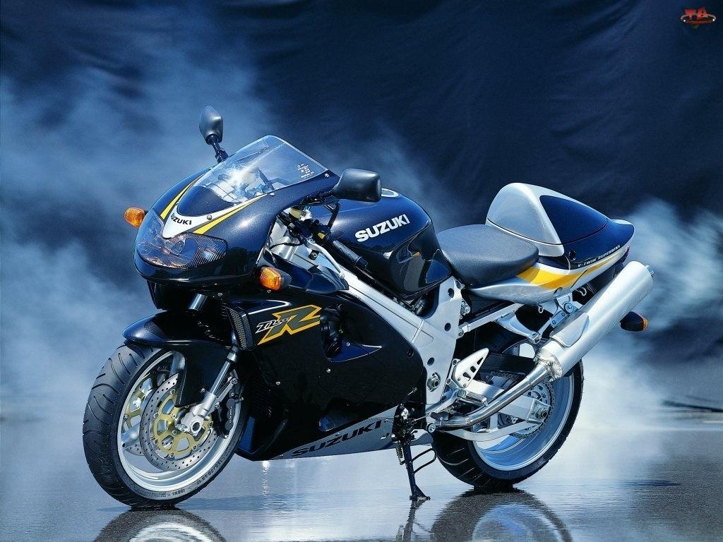 tłumik , siedzenie , kierownica, koła, Motory Suzuki, opony, lusterka, światła