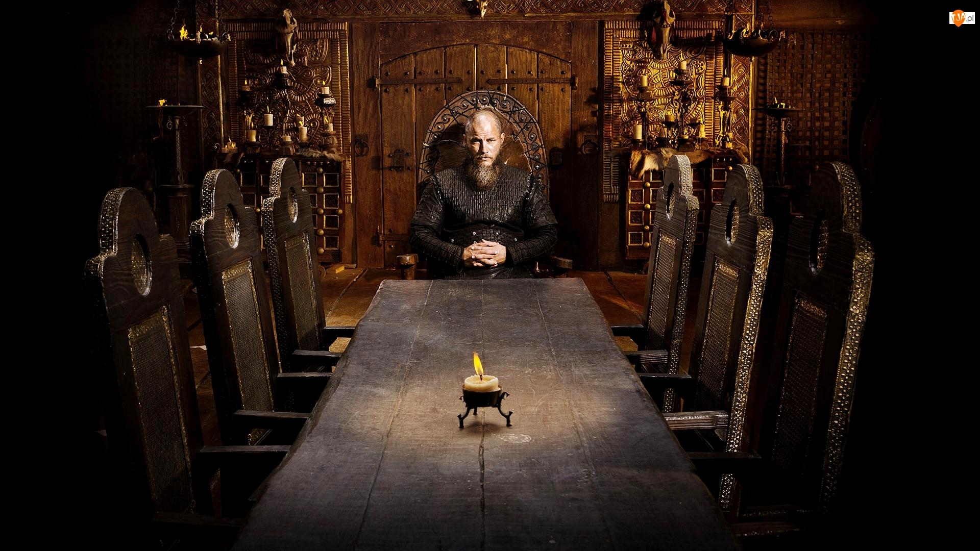 Wikingowie, Ragnar Lothbrok, Vikings, Serial, Travis Fimmel