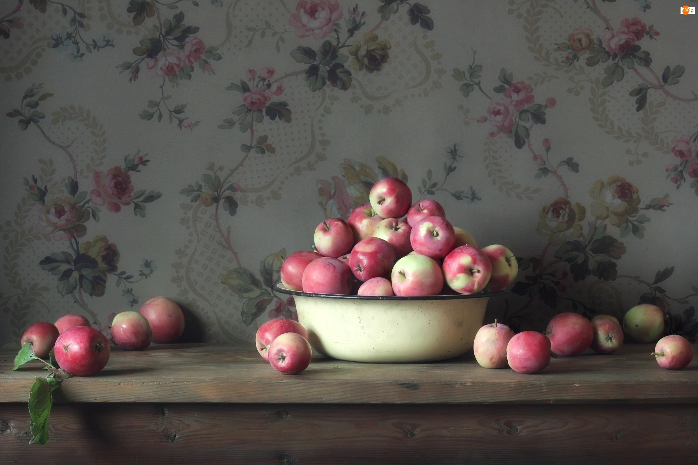 Jablka, Owoce, Miska