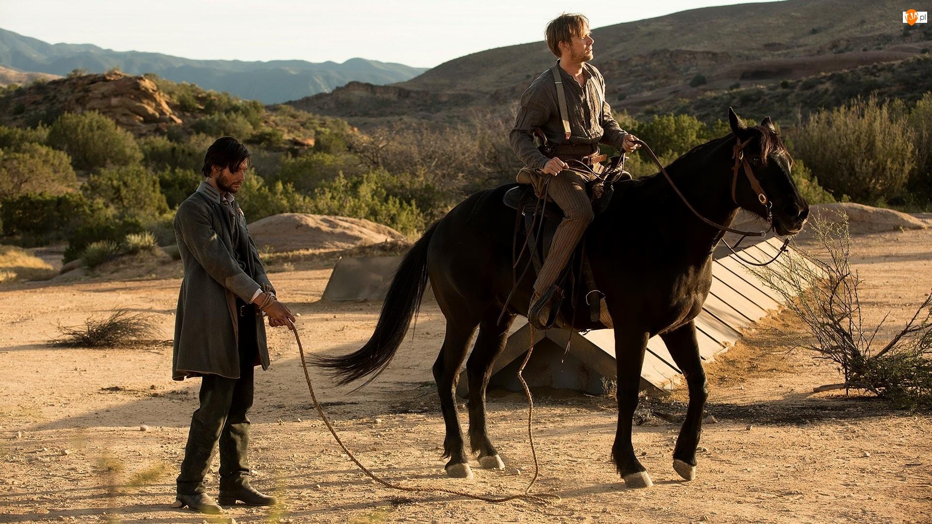 Koń, William, Aktor, Ben Barnes, Westworld, Serial, Logan, Bohaterowie, Aktor, Jimmi Simpson