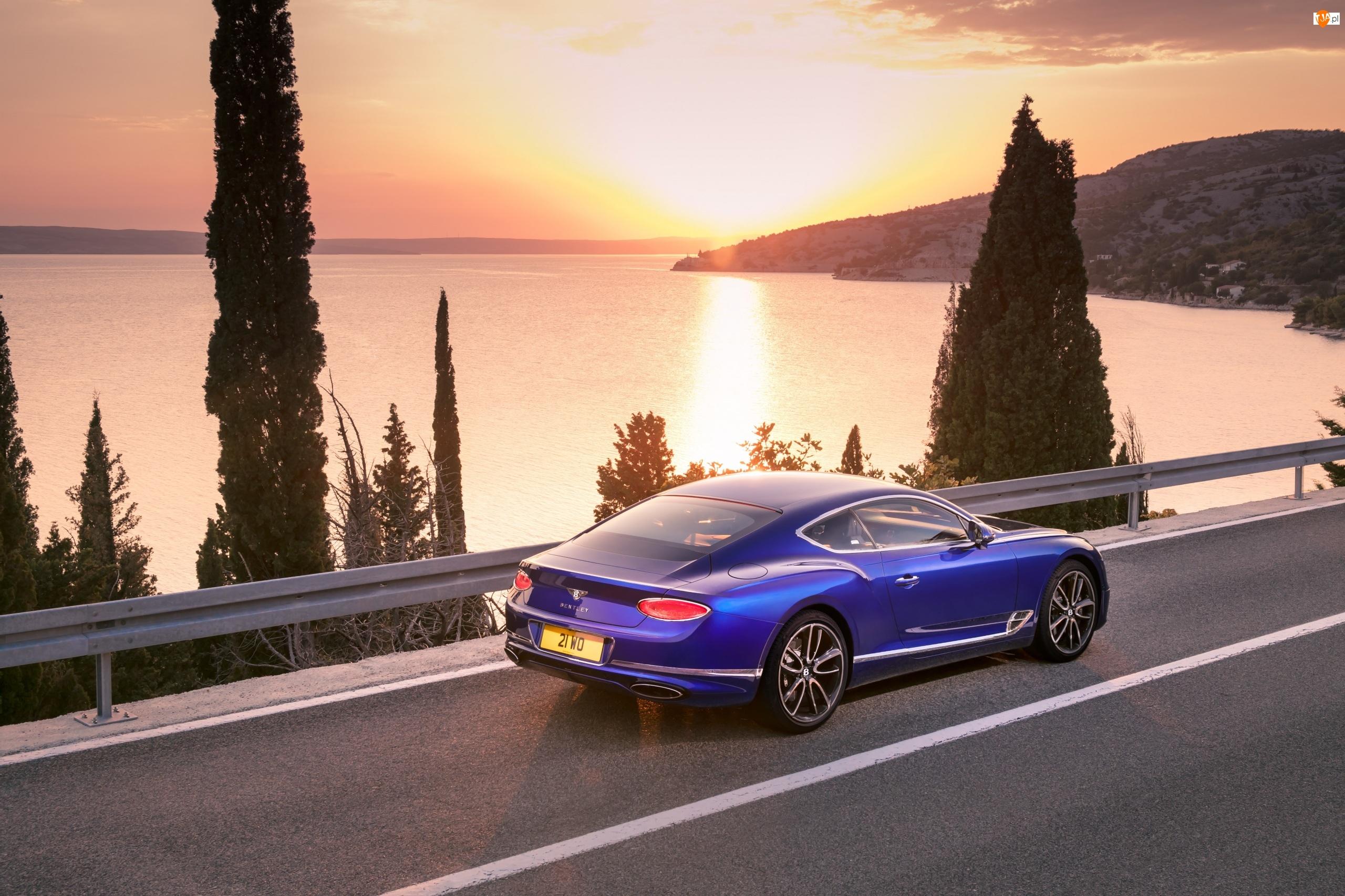 Bentley Continental GT, Niebieski