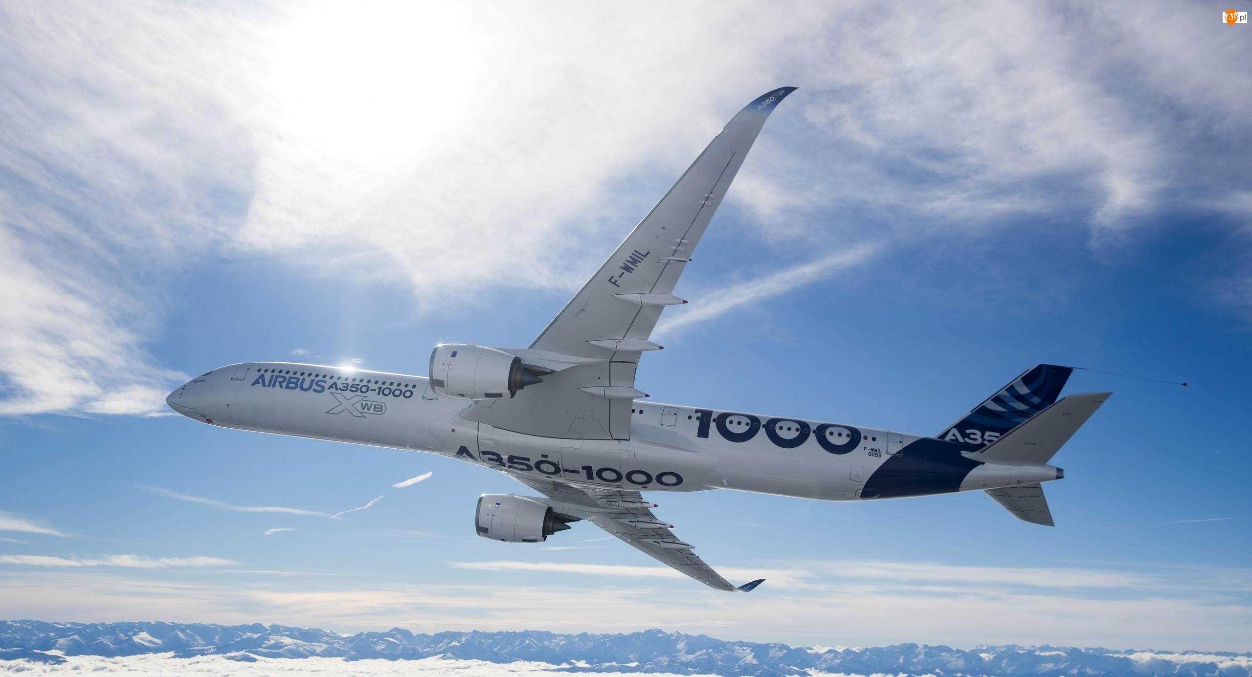 Airbus A350-1000 XWB, Samolot pasażerski